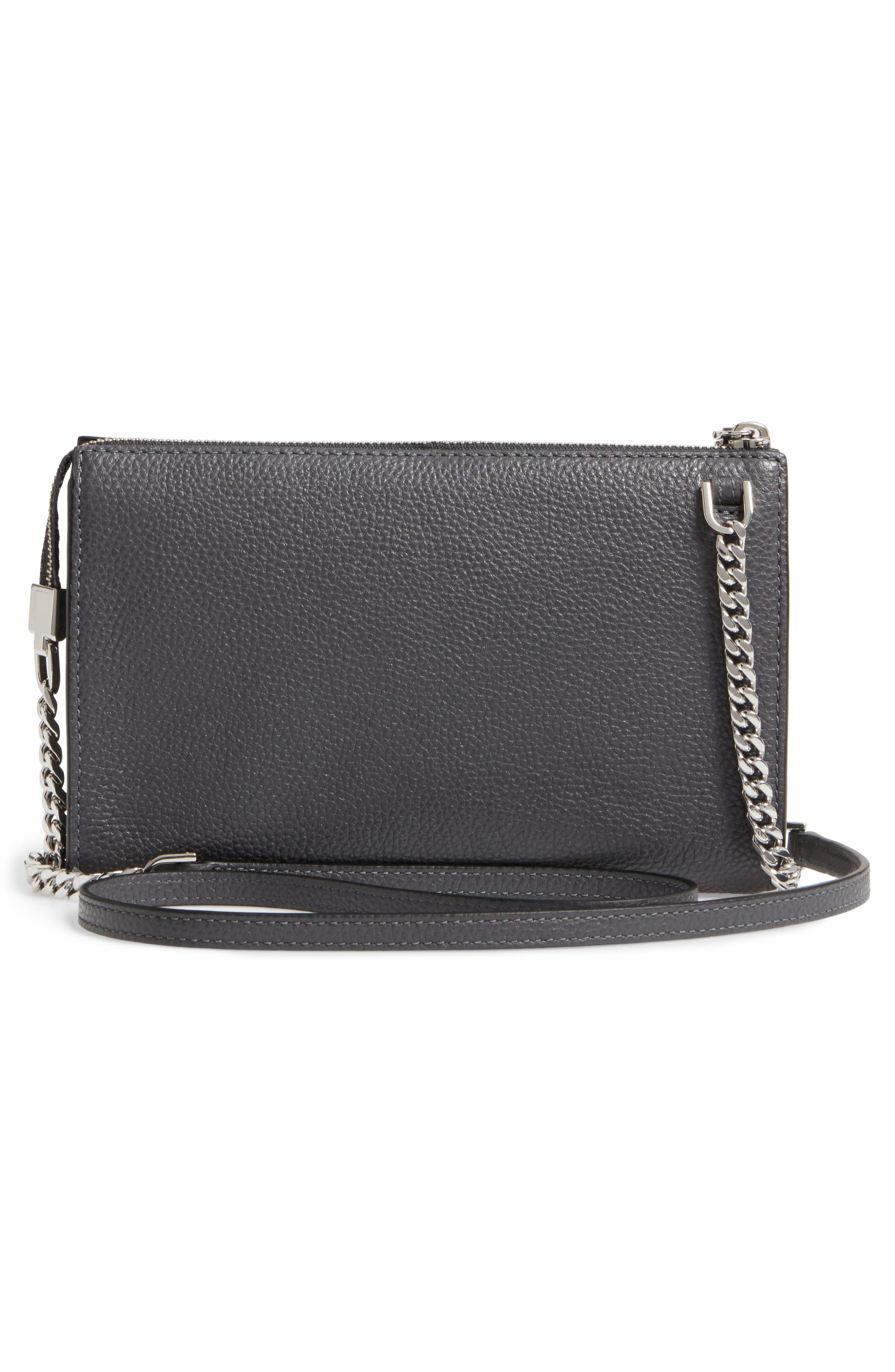 Alternate Image 2  - MARC JACOBS Small Recruit Leather Crossbody Bag