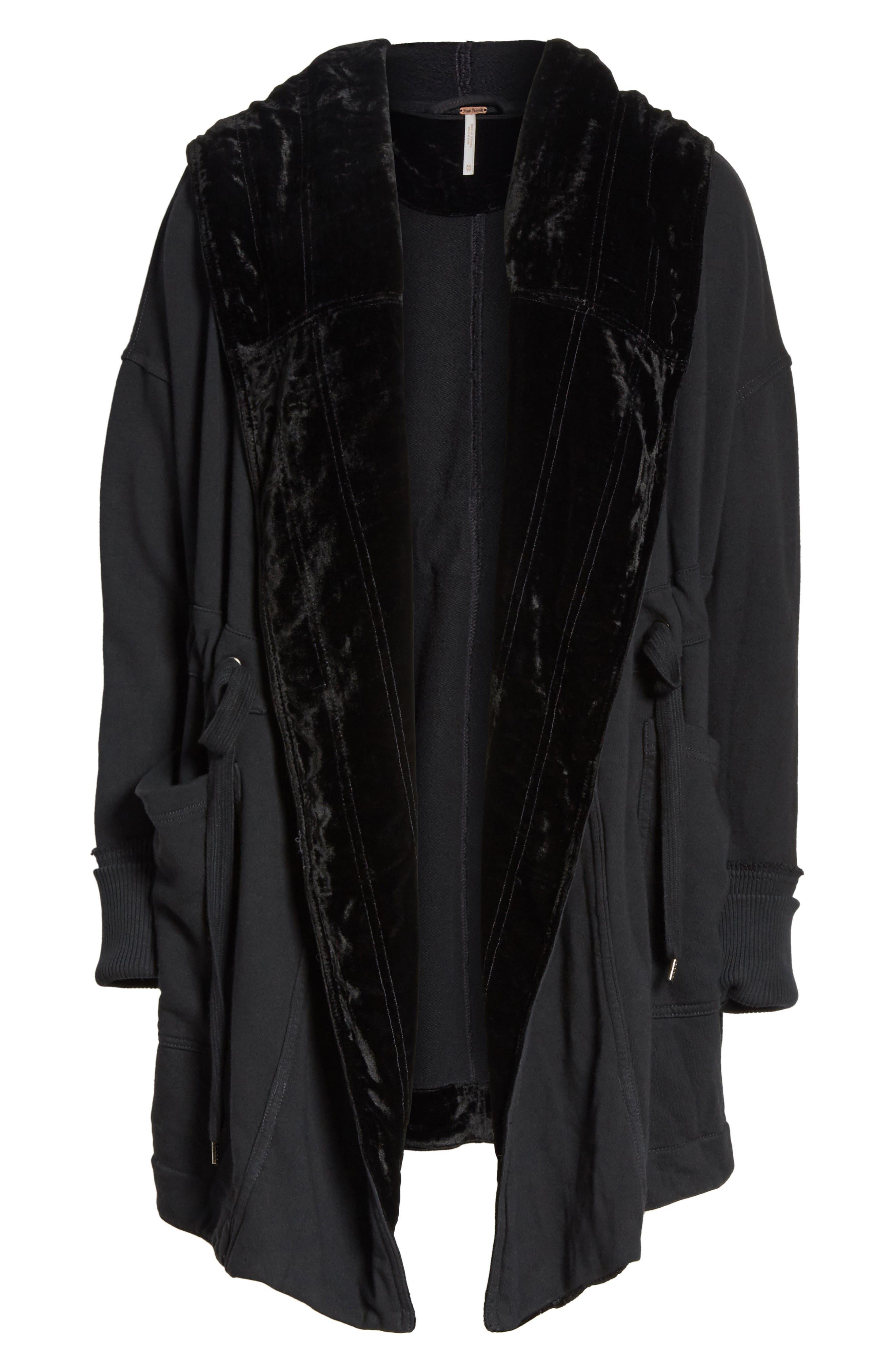 Westwood Cardigan,                             Alternate thumbnail 6, color,                             Black