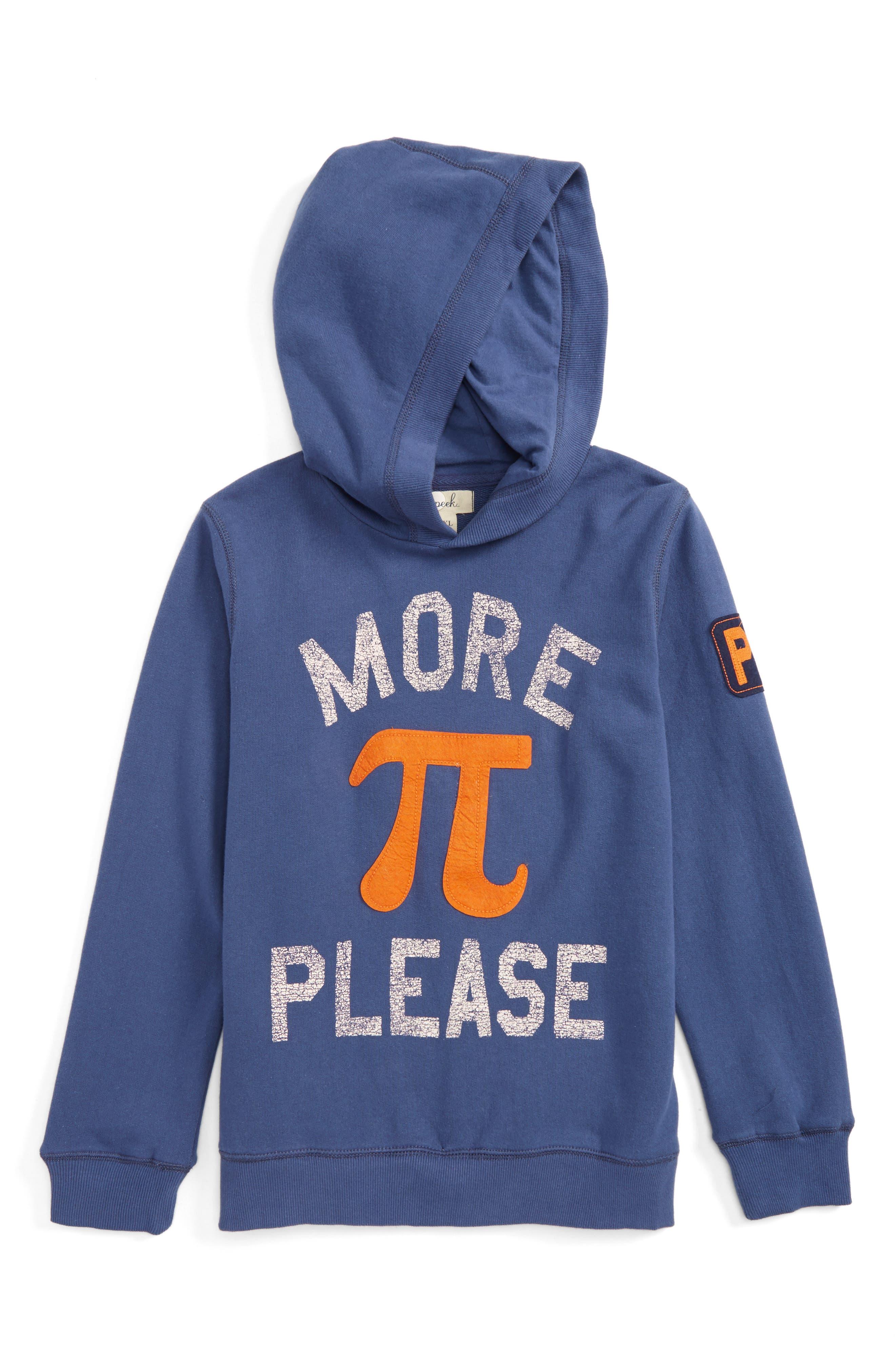 Peek More Pi Please Hoodie (Toddler Boys, Little Boys & Big Boys)