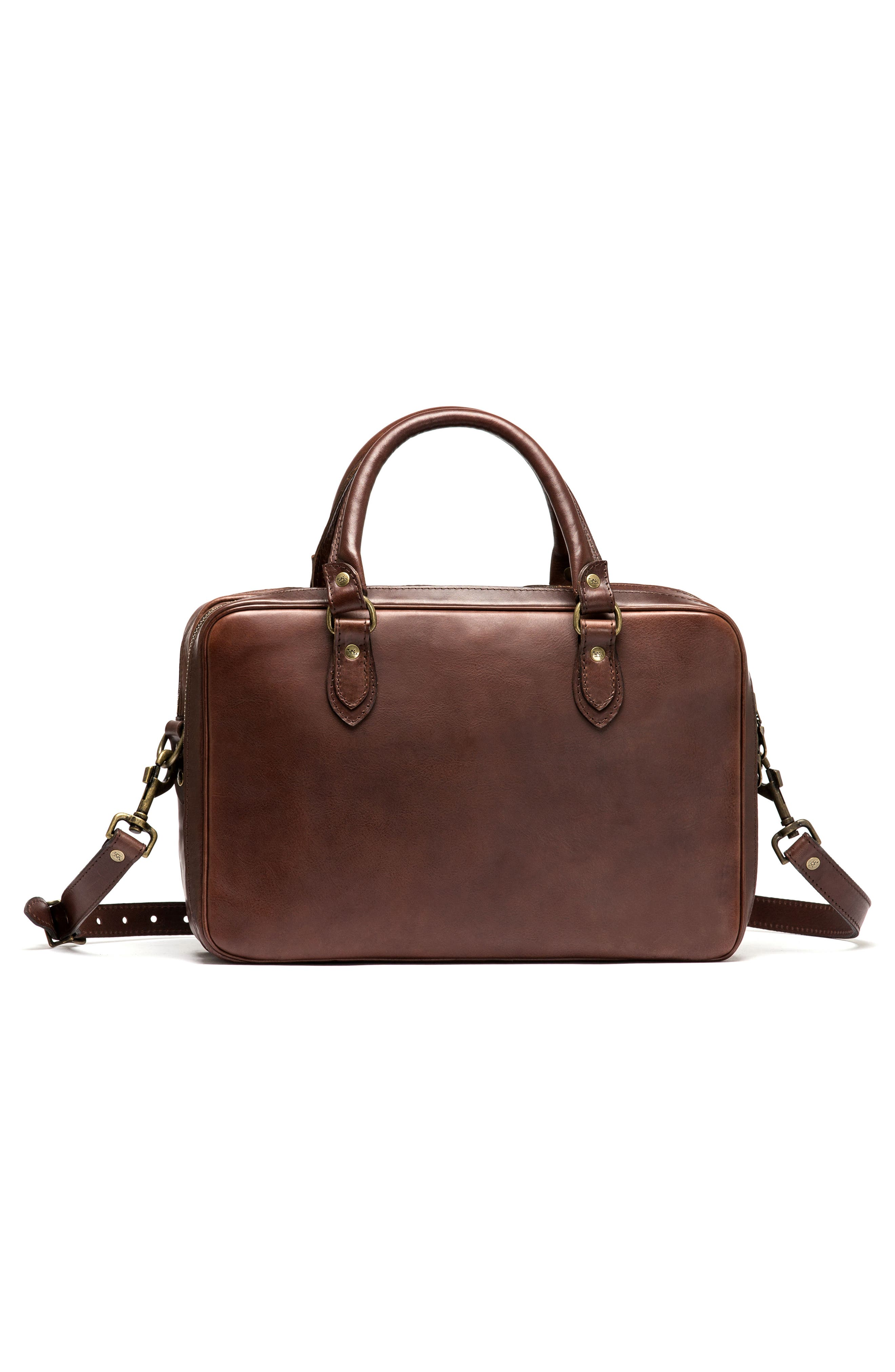 Britomart Leather Briefcase,                             Alternate thumbnail 2, color,                             Mud