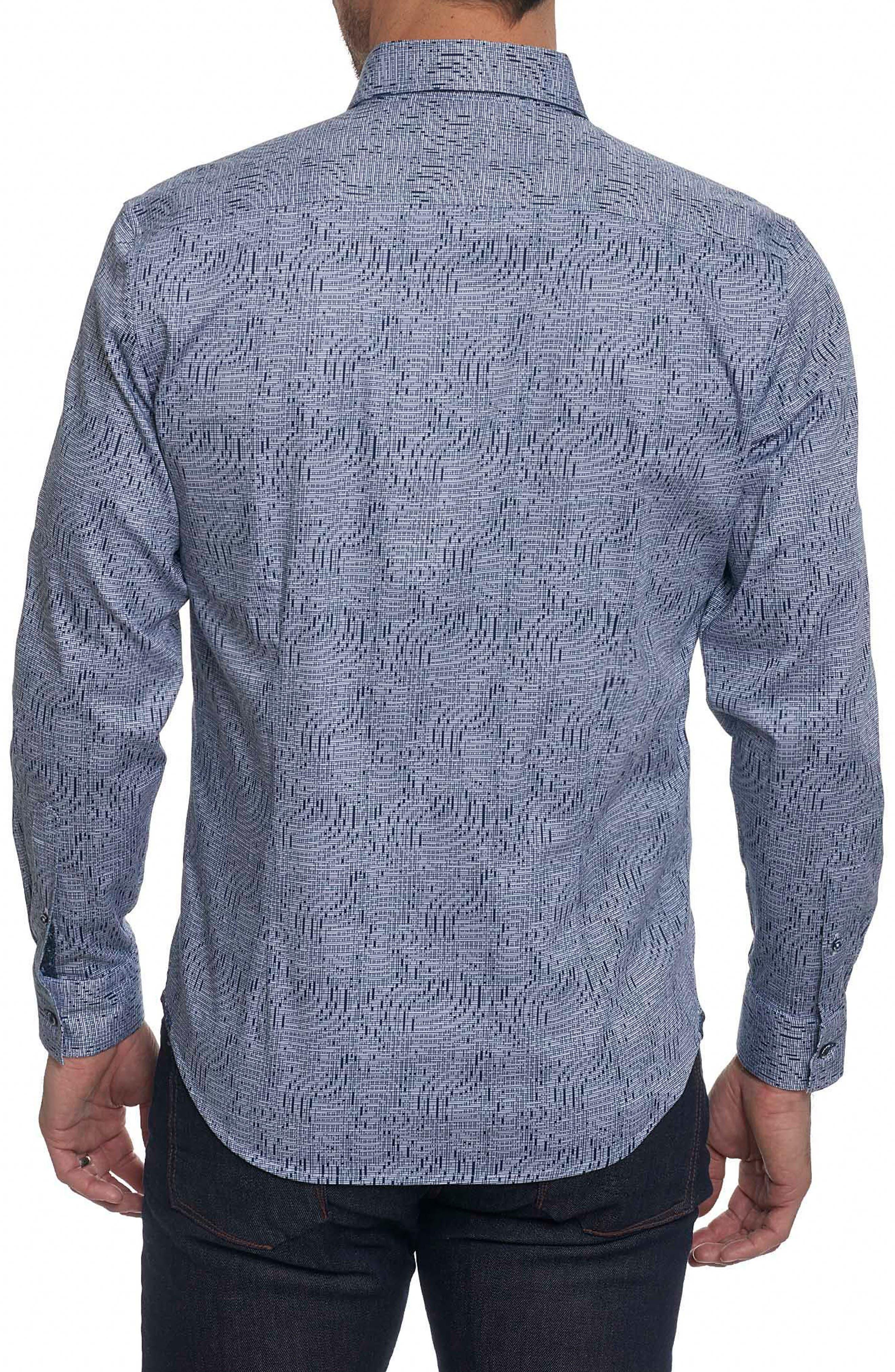 Alternate Image 2  - Robert Graham Donovan Tailored Fit Sport Shirt