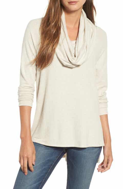 Women's Beige Tunic Sweaters | Nordstrom