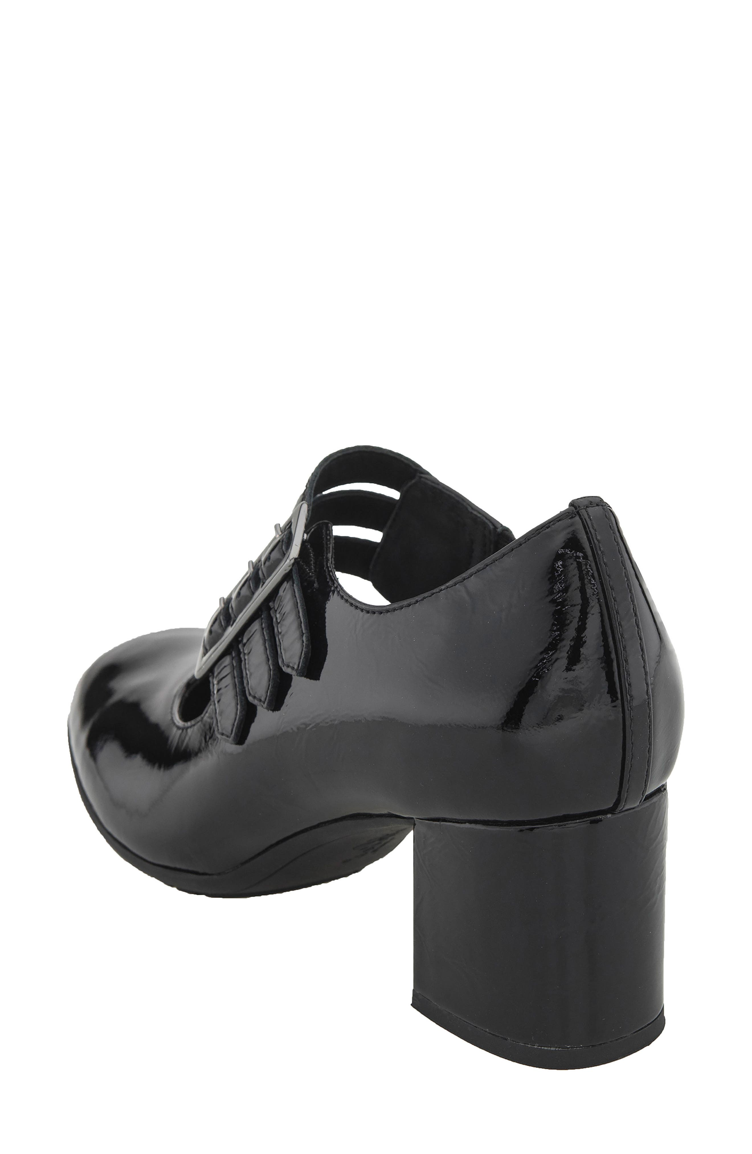 Fortuna Mary Jane Pump,                             Alternate thumbnail 2, color,                             Black Patent Leather