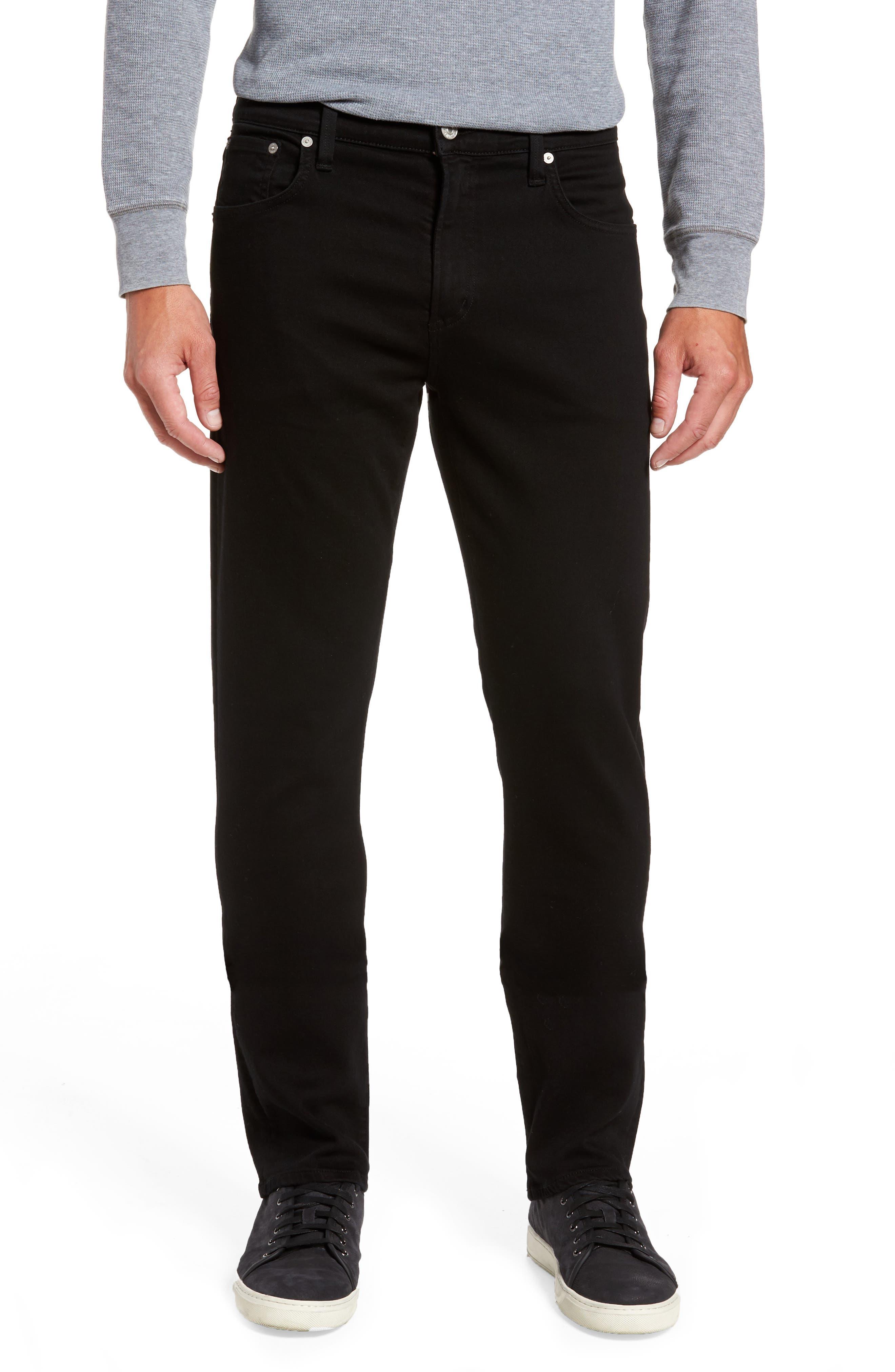 PERFORM - Gage Slim Straight Leg Jeans,                         Main,                         color, Parker