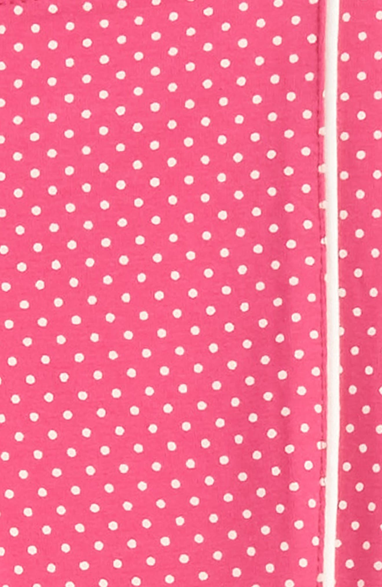 Alternate Image 2  - Tea Collection Stripe-n-Dot Leggings (Toddler Girls, Little Girls & Big Girls)