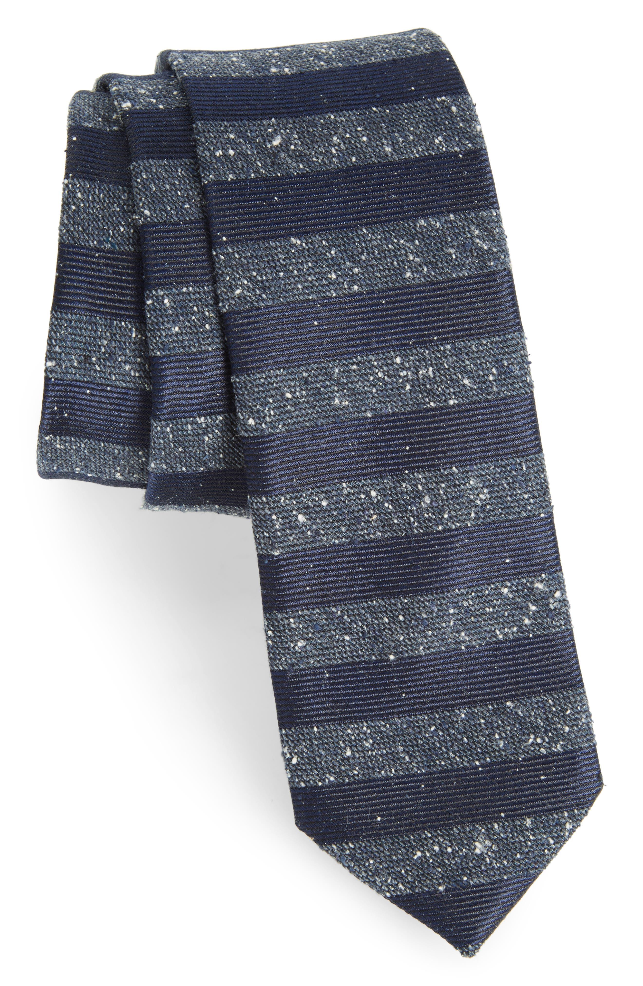 Alternate Image 1 Selected - The Tie Bar Meter Stripe Nep Silk Tie
