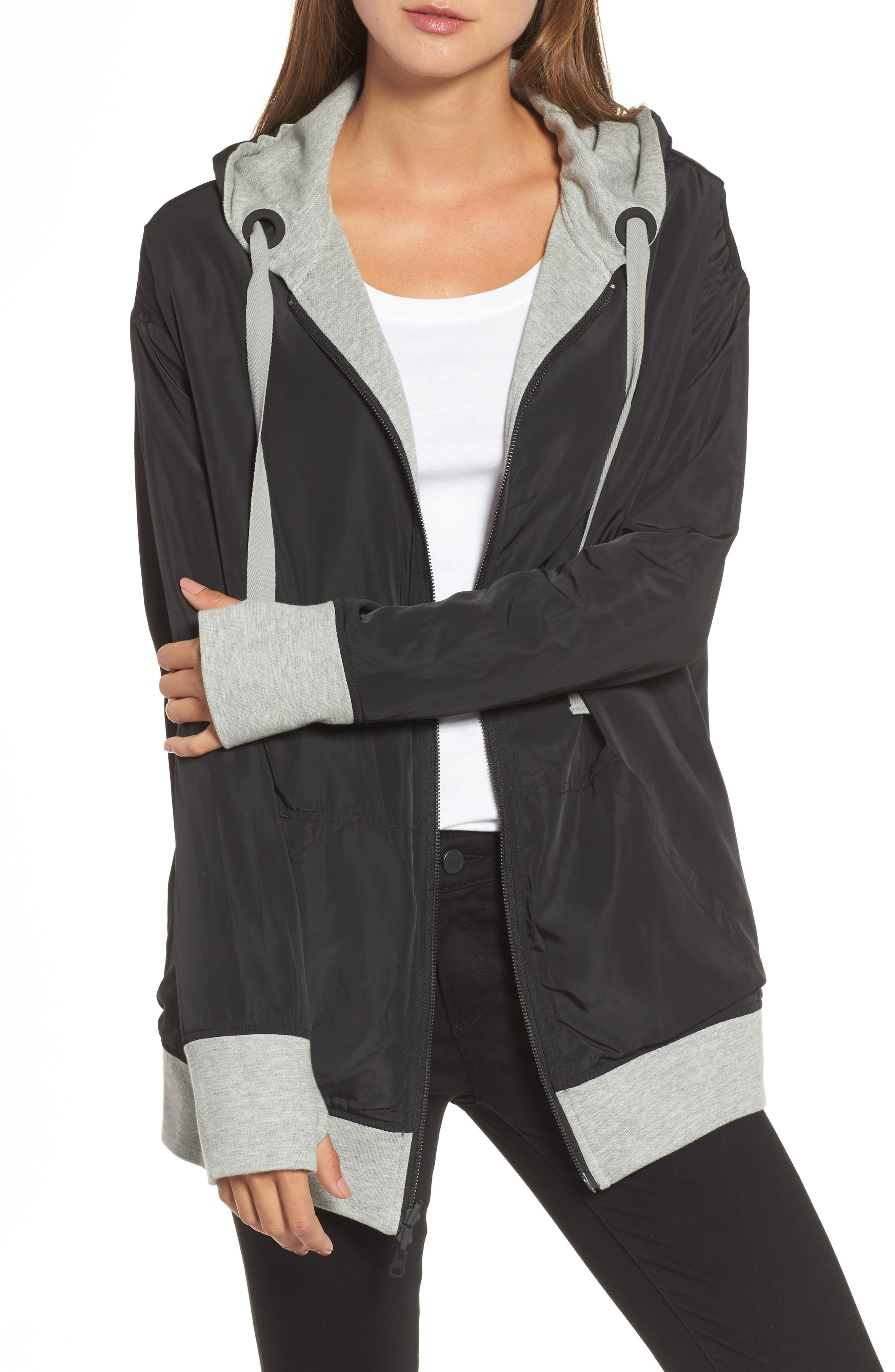 Alternate Image 4  - Kenneth Cole New York Reversible Graphic Hoodie