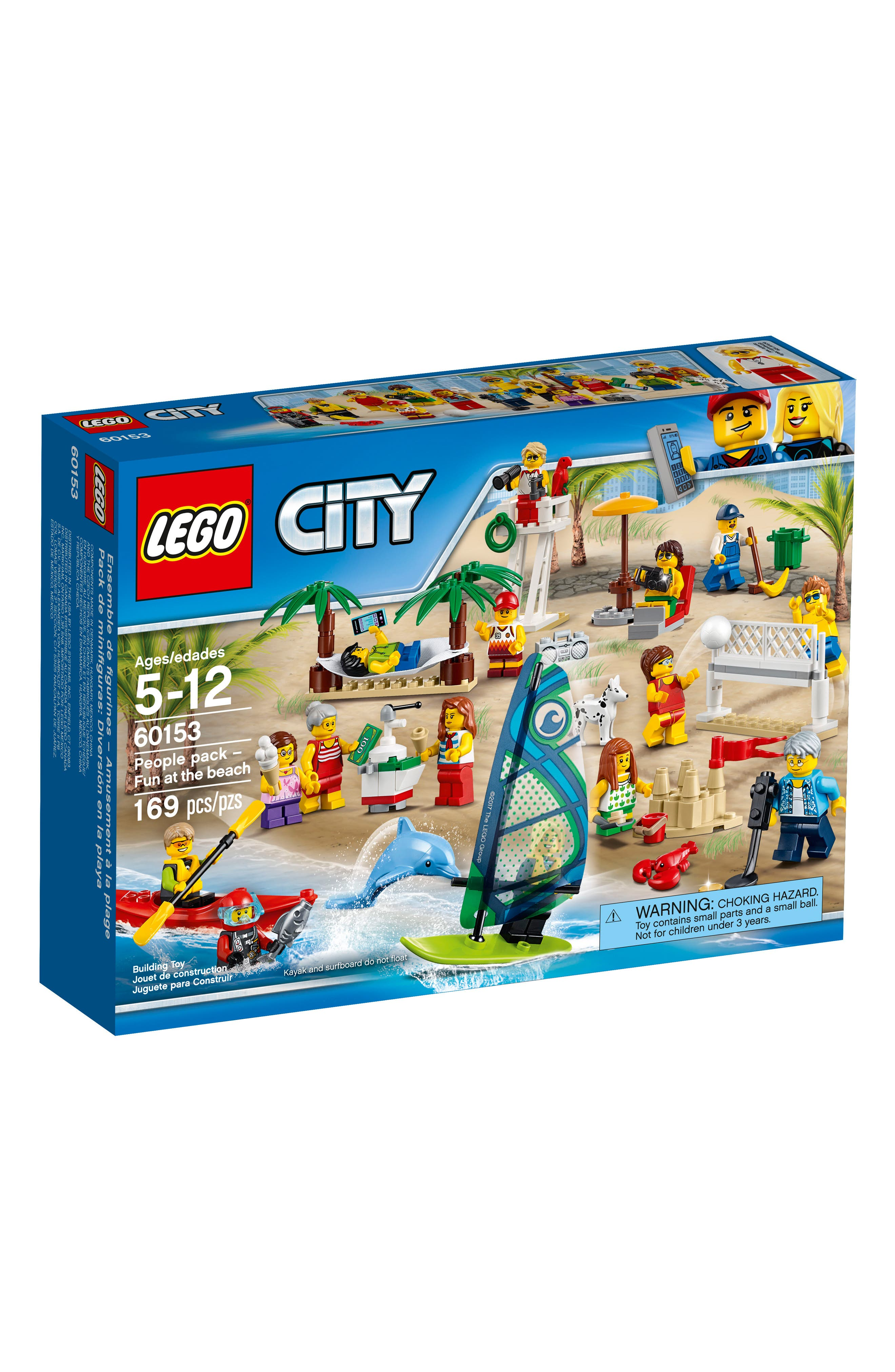 LEGO® City People Pack - Fun at the Beach - 60153