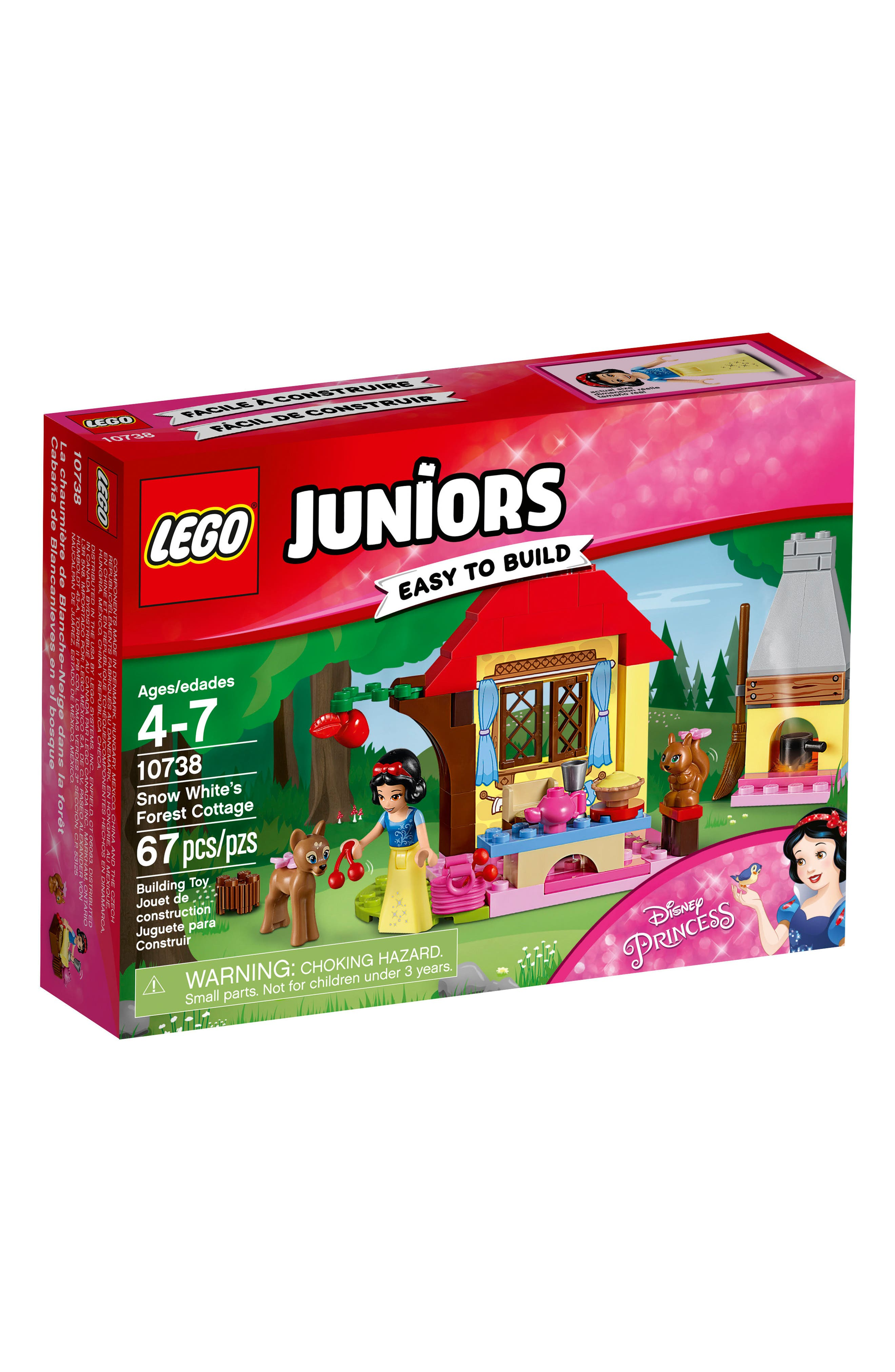 LEGO® Juniors Disney™ Snow White's Forest Cottage Play Set - 10738