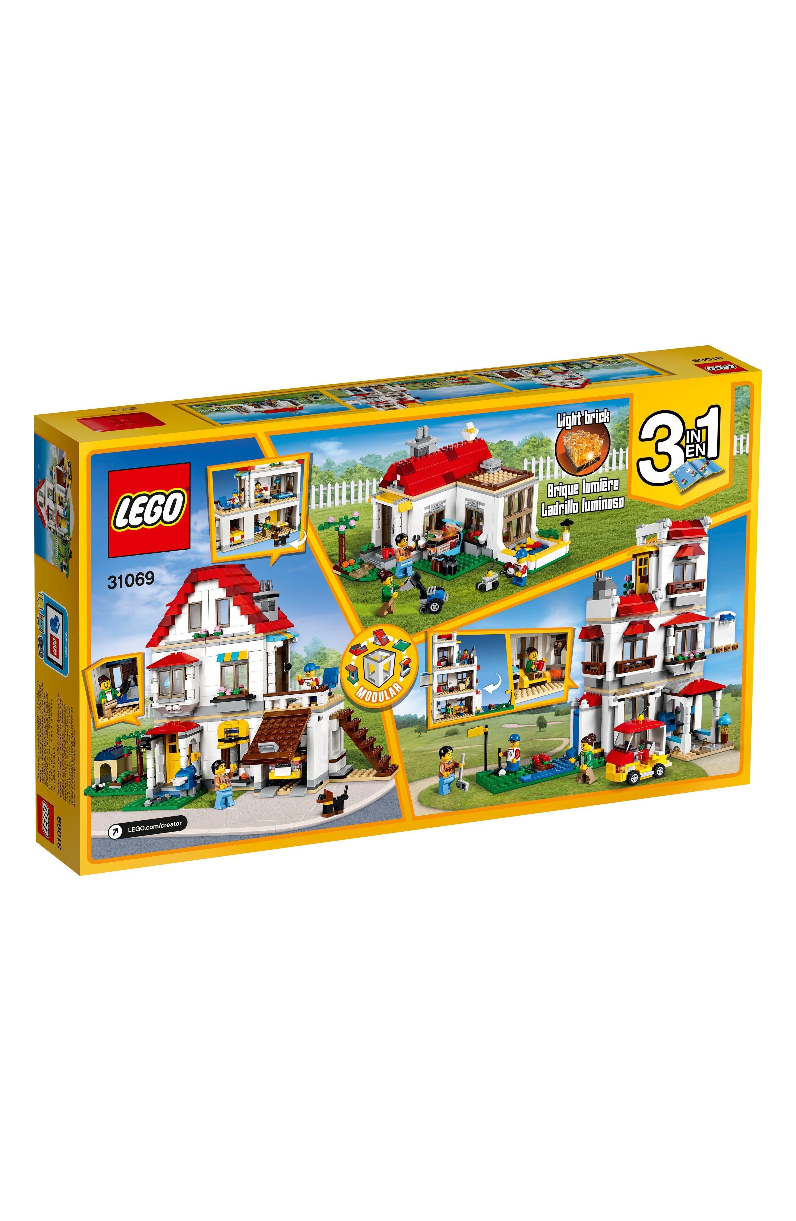 Creator Modular Family Villa Play Set - 31069,                             Main thumbnail 1, color,                             Multi
