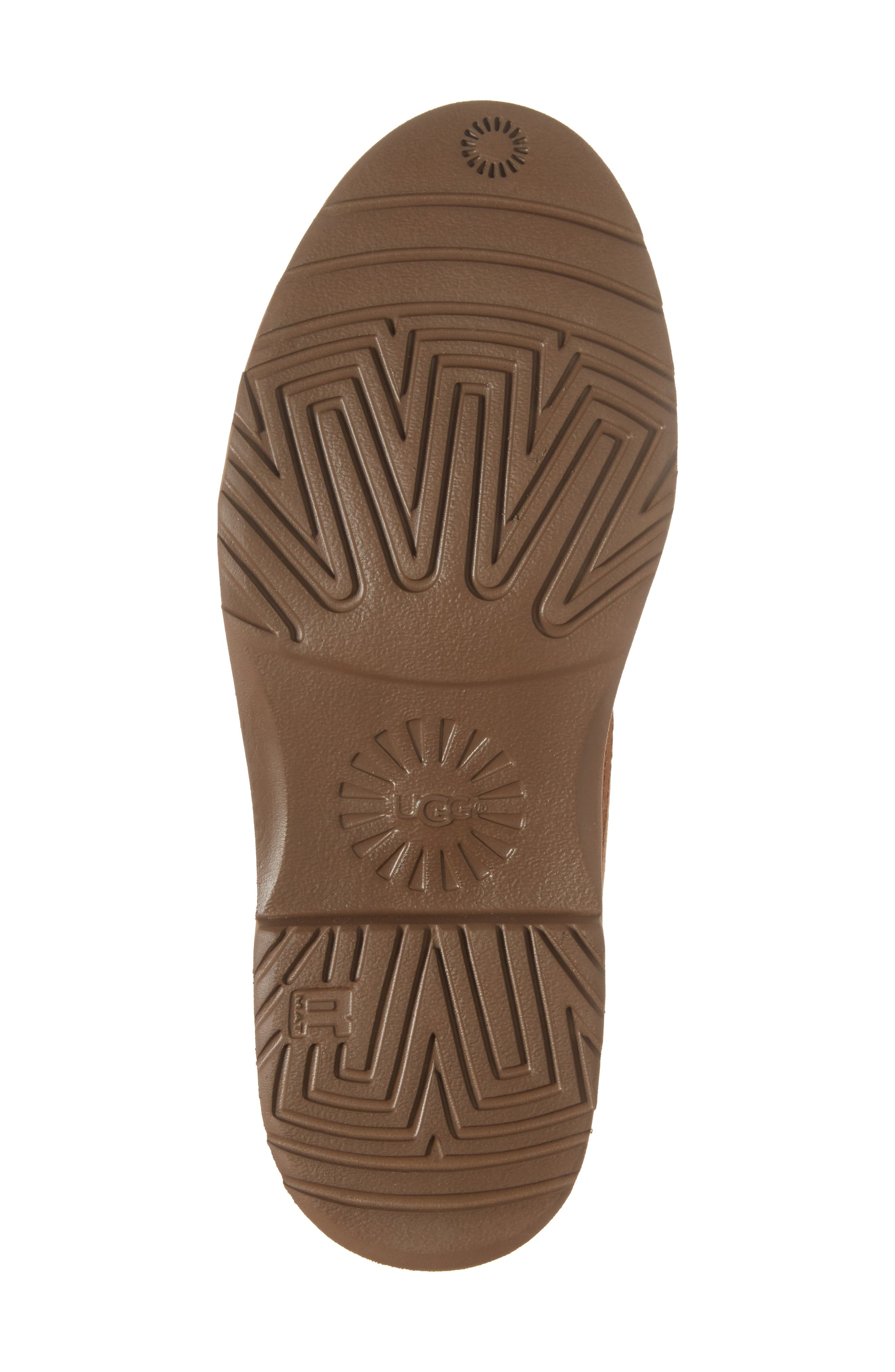 Alternate Image 6  - UGG® Naiyah Lace-Back Genuine Shearling Boot (Women)
