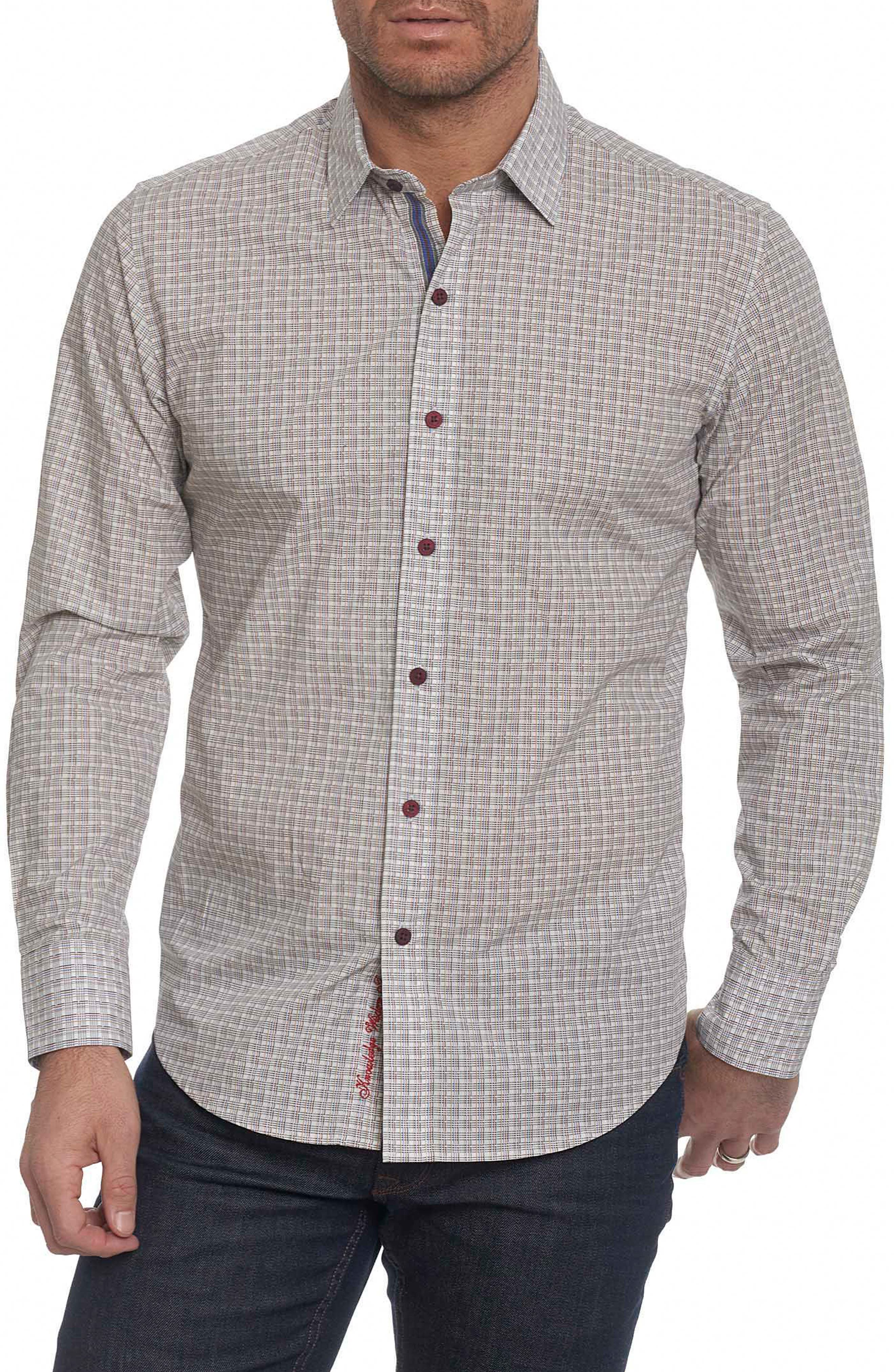 Alternate Image 1 Selected - Robert Graham Sandy Creek Classic Fit Sport Shirt