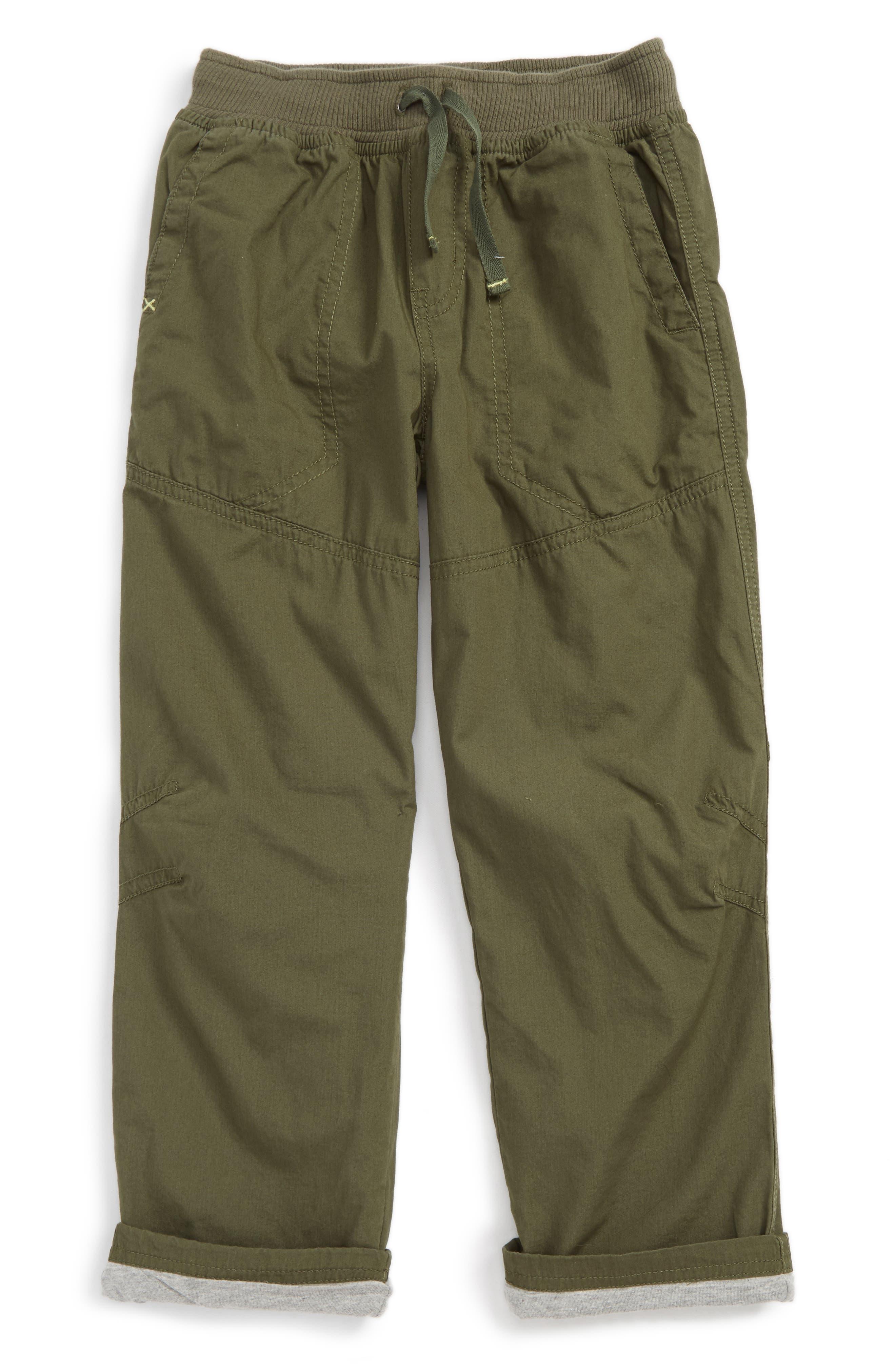 Jersey Lined Pants,                             Main thumbnail 1, color,                             Tweed