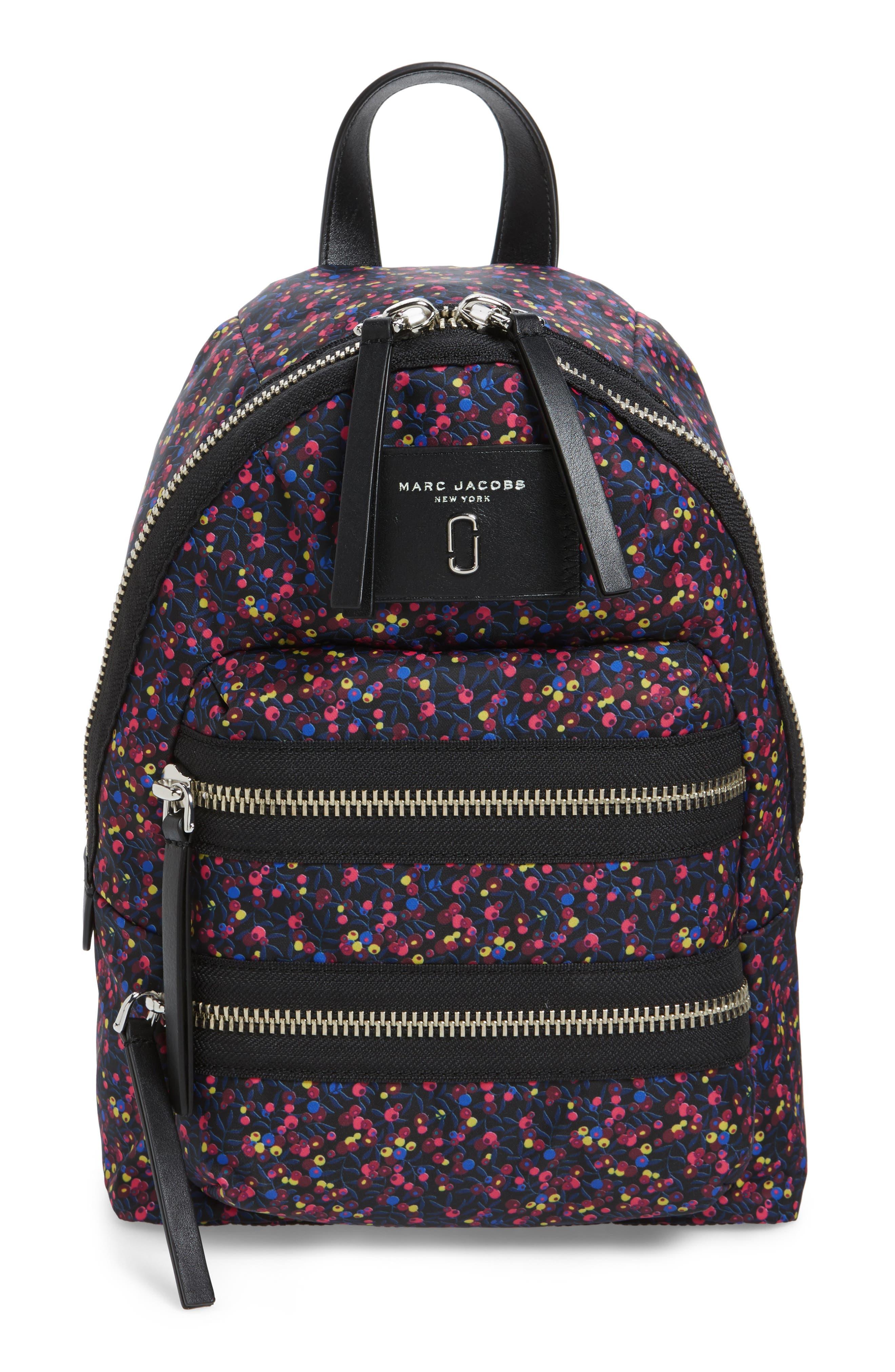 MARC JACOBS Mixed Berries Mini Biker Backpack