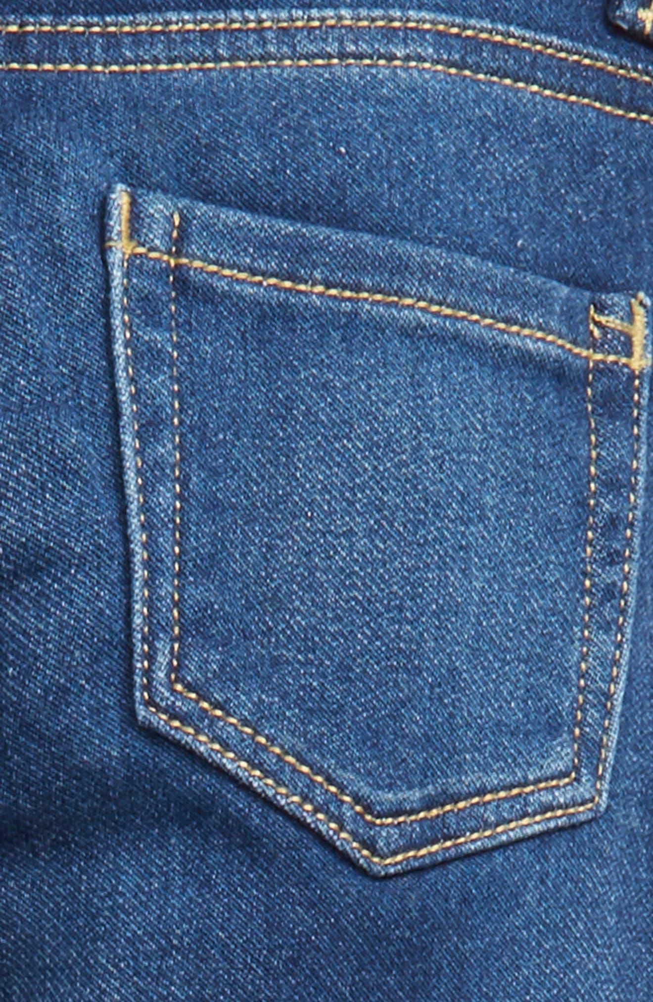 Taylor Skinny Jeans,                             Alternate thumbnail 3, color,                             Med Authentic
