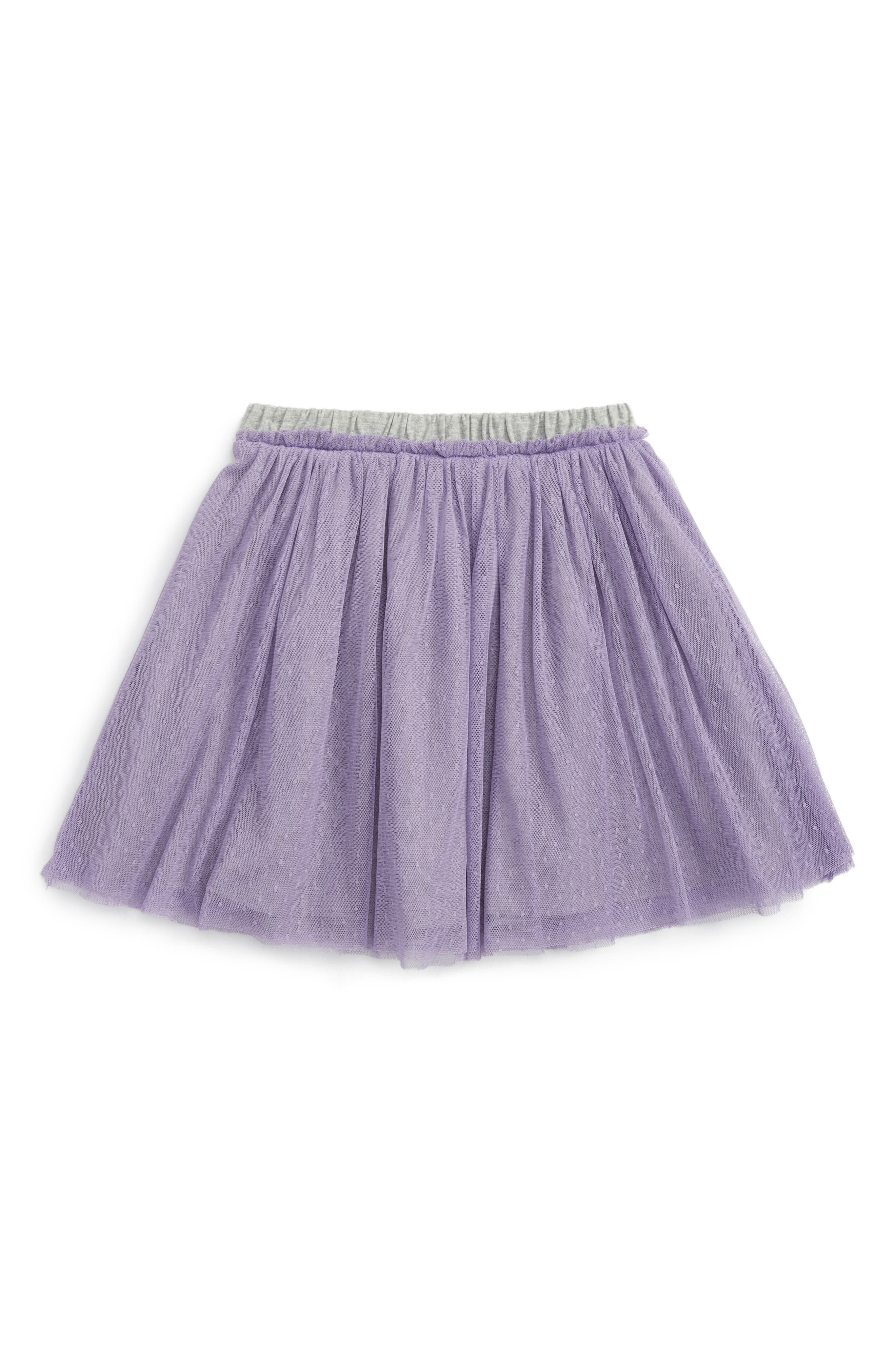 Tulle Skirt,                         Main,                         color, Taffy