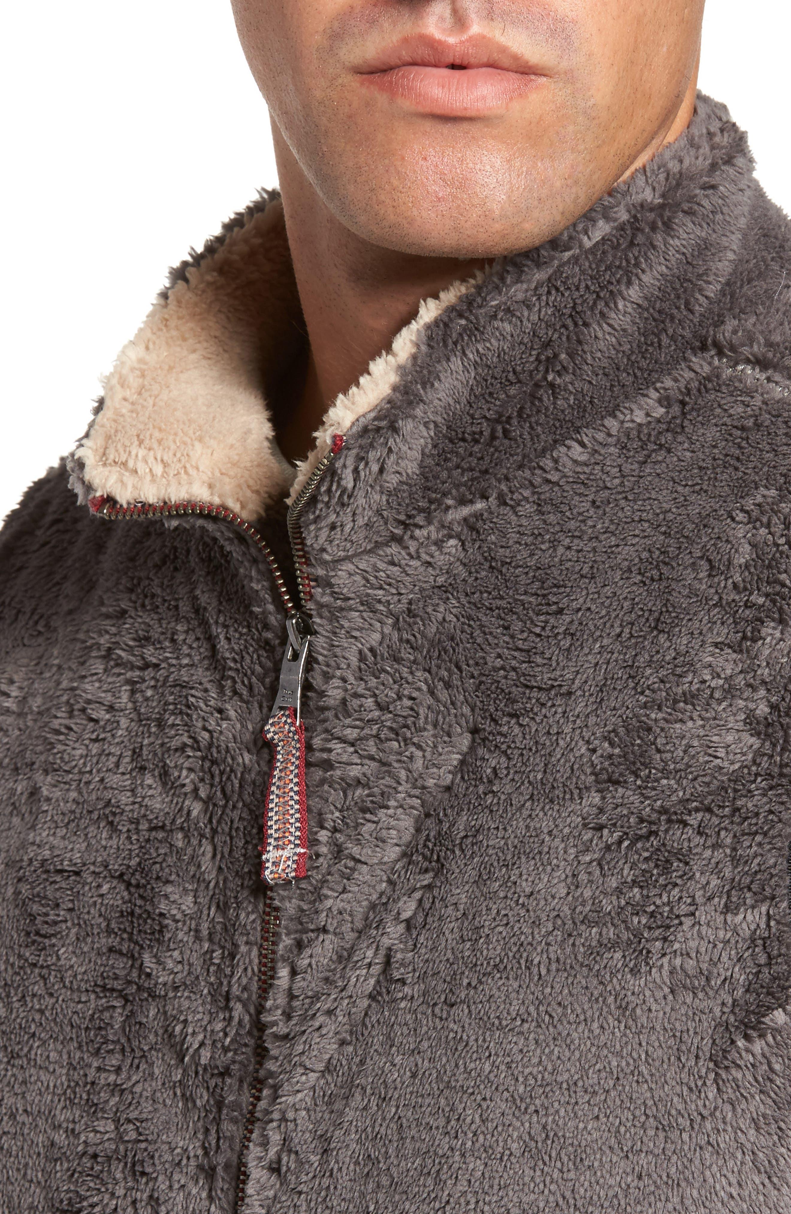 Alternate Image 4  - True Grit Double Up Pebble Pile Faux Fur Vest