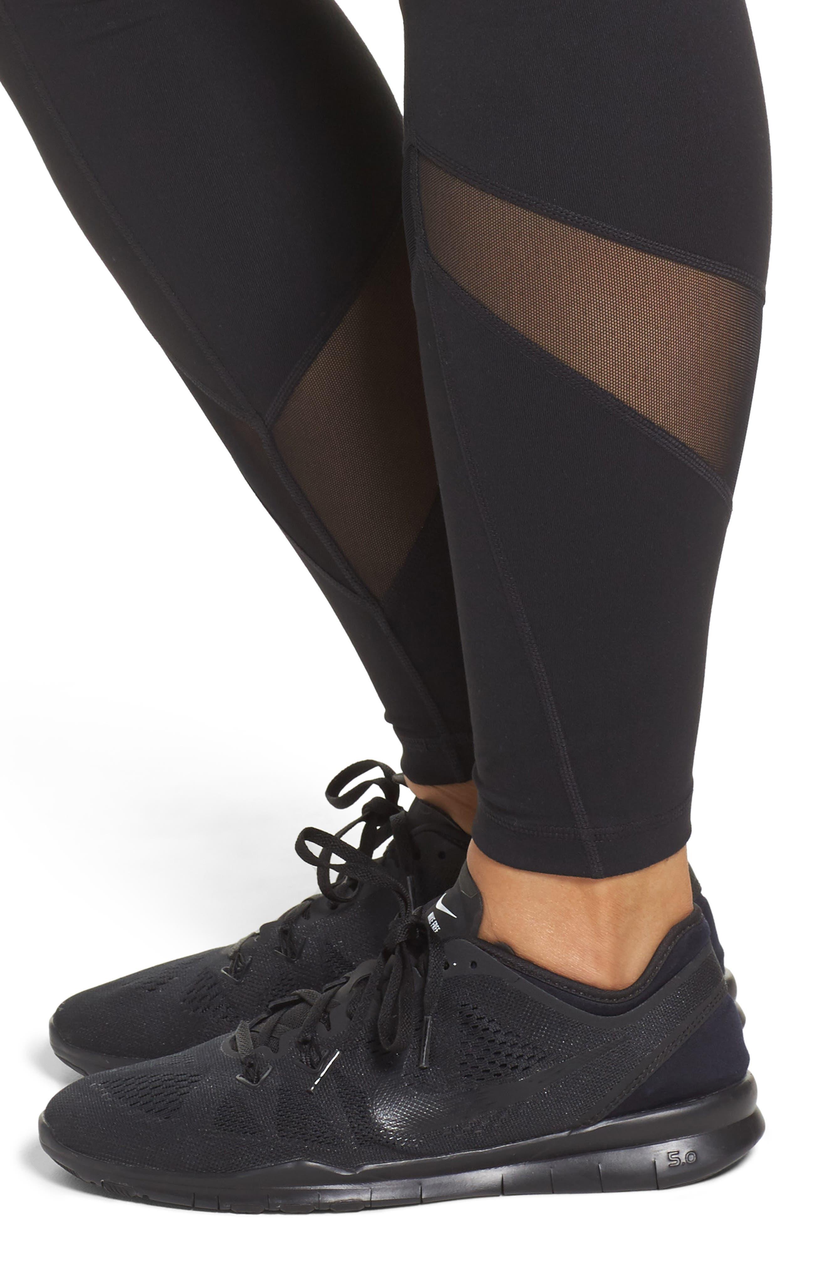Alternate Image 4  - Zella Infinity High Waist Leggings (Plus Size)