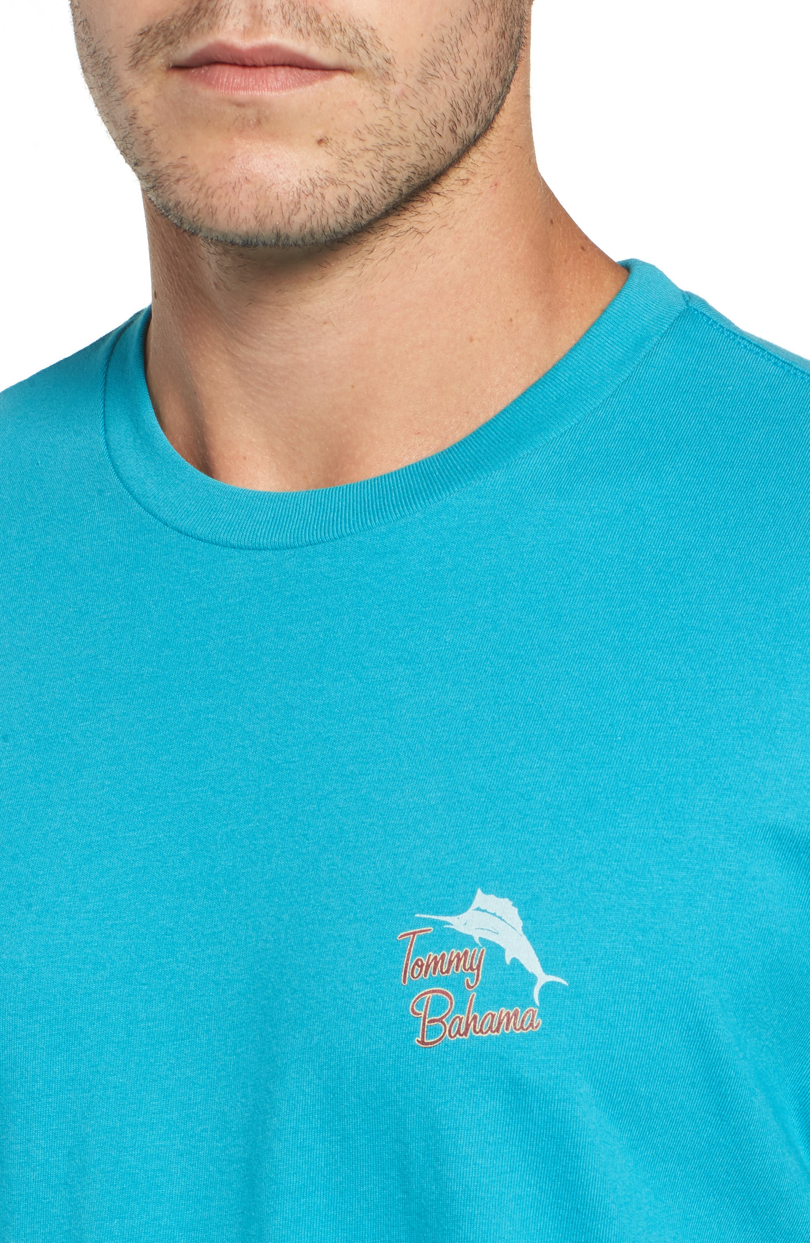 Alternate Image 4  - Tommy Bahama The Pursuit of Hoppiness Graphic T-Shirt