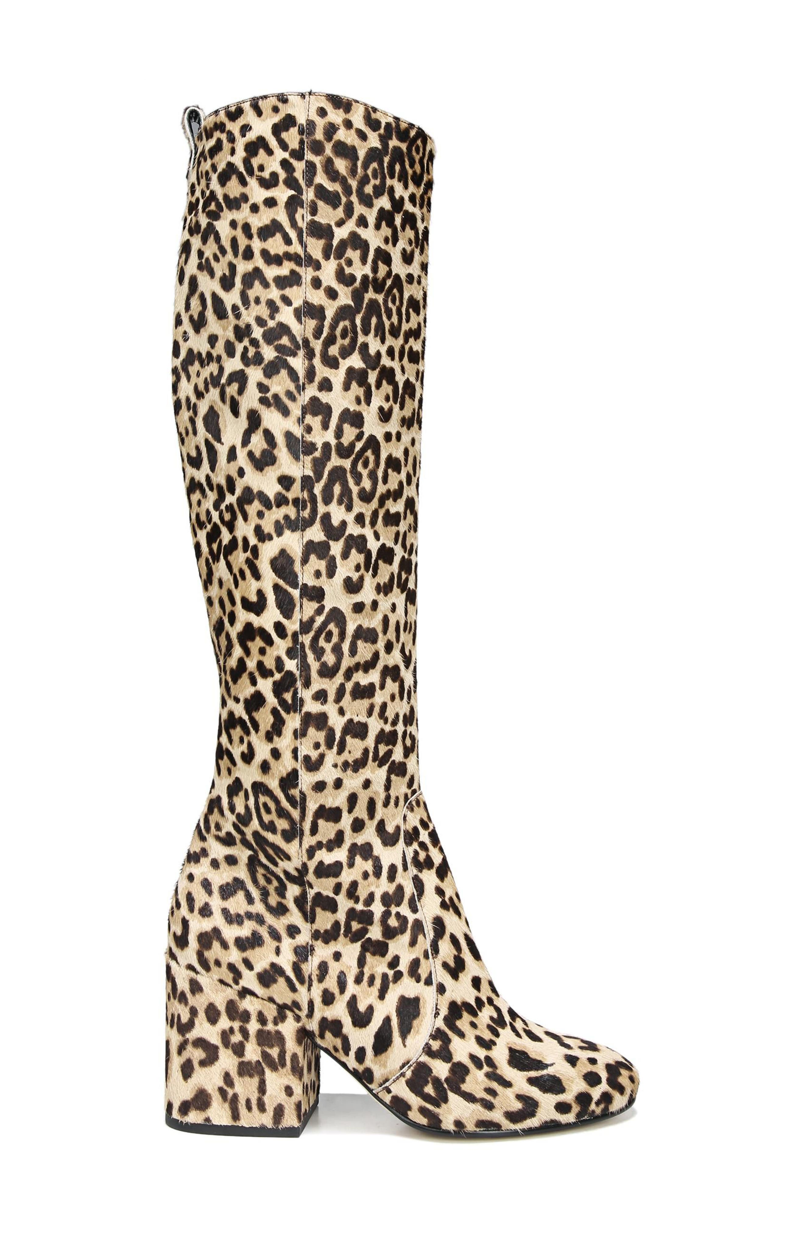 Alternate Image 3  - Sam Edelman Thora Genuine Calf Hair Knee High Boot (Women)