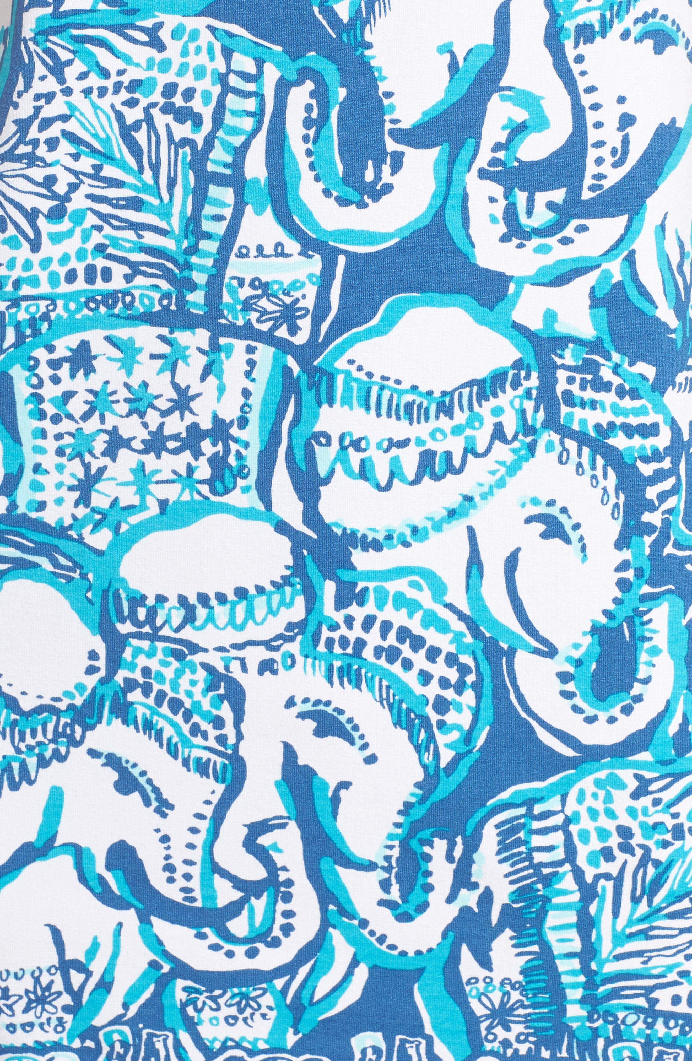 Sophiletta UPF 50+ Dress,                             Alternate thumbnail 5, color,                             Indigo
