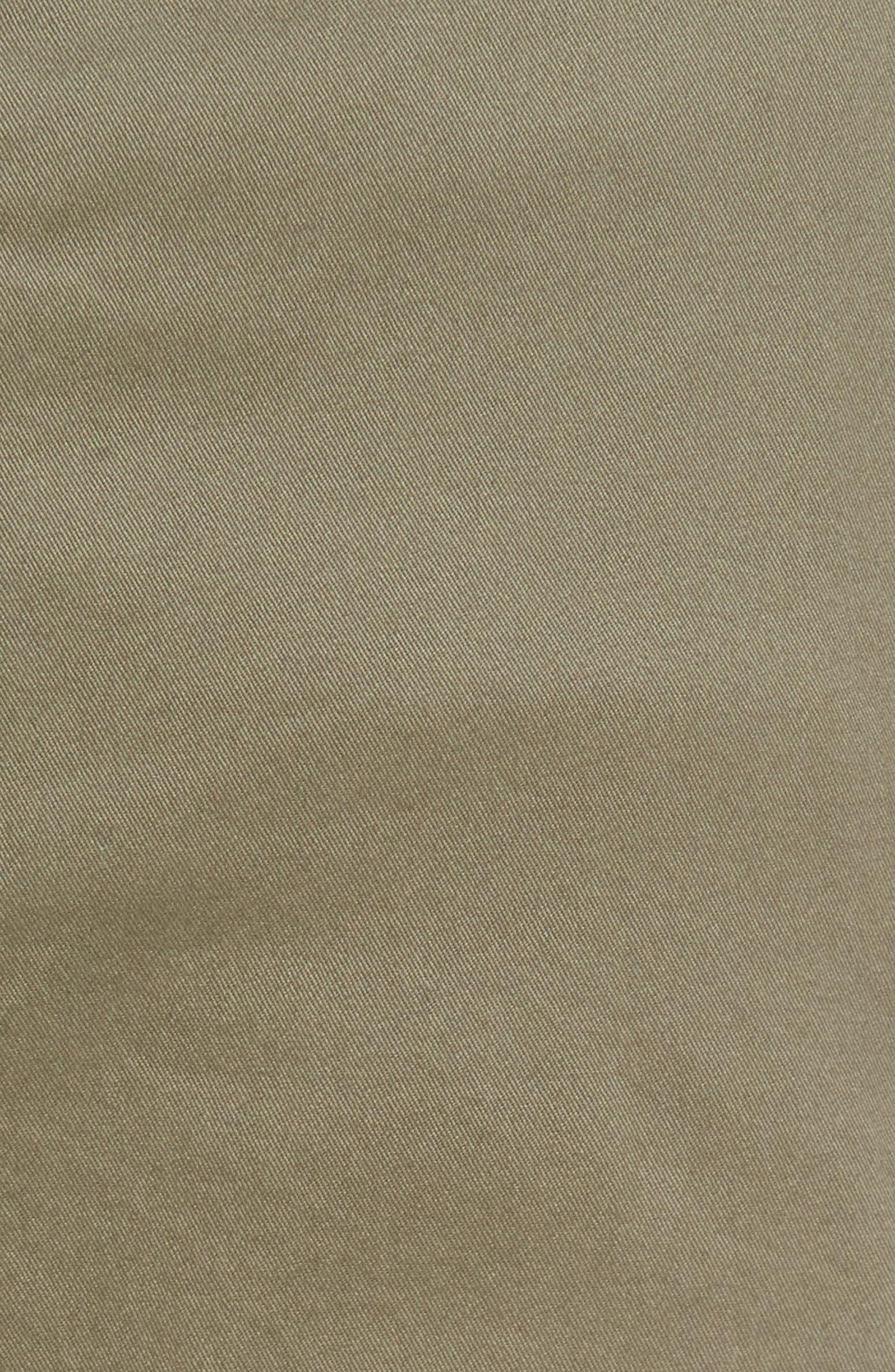 Regular Fit Cargo Pants,                             Alternate thumbnail 5, color,                             Olive Grove