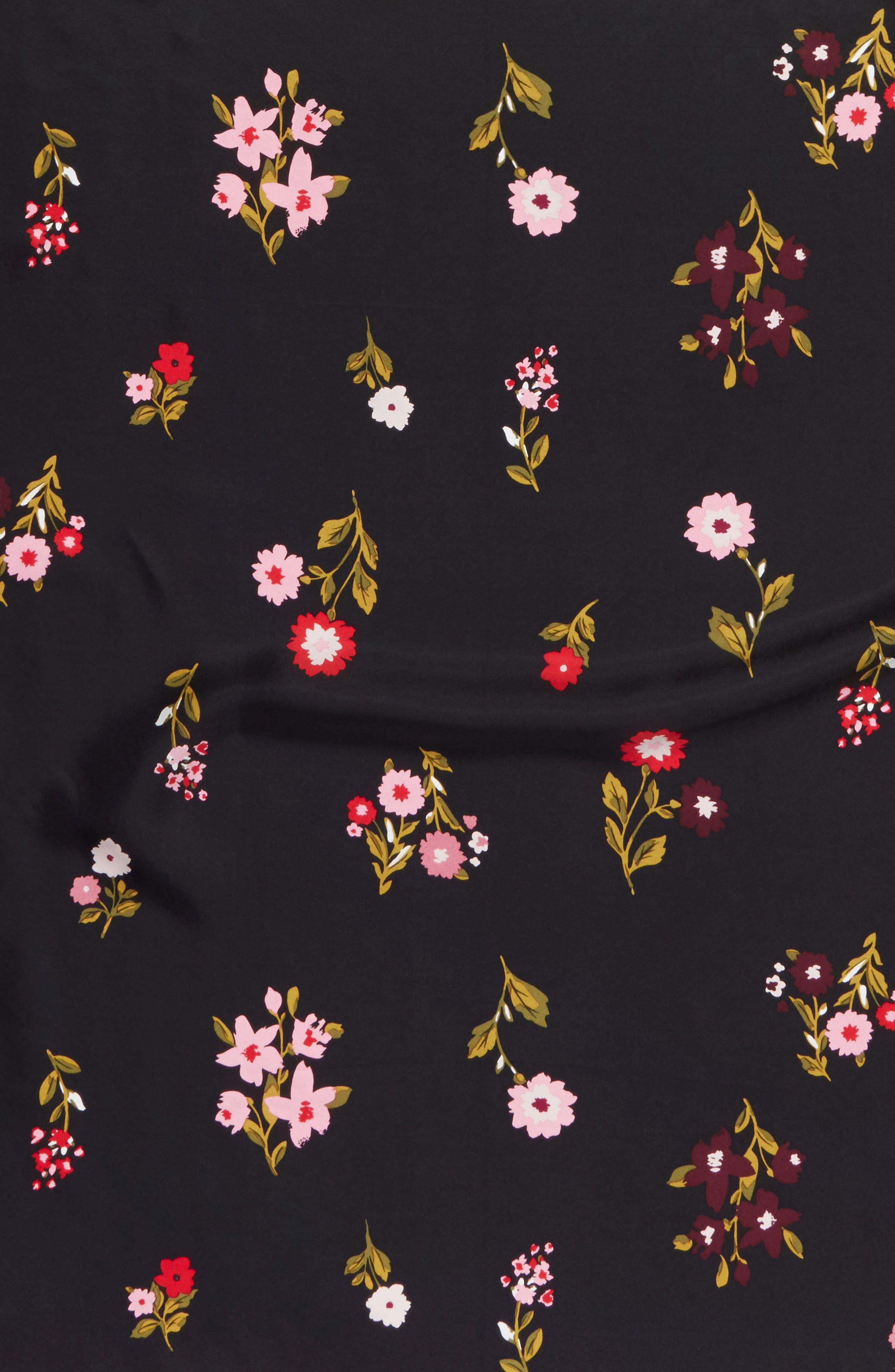 Alternate Image 3  - kate spade new york in bloom square silk scarf