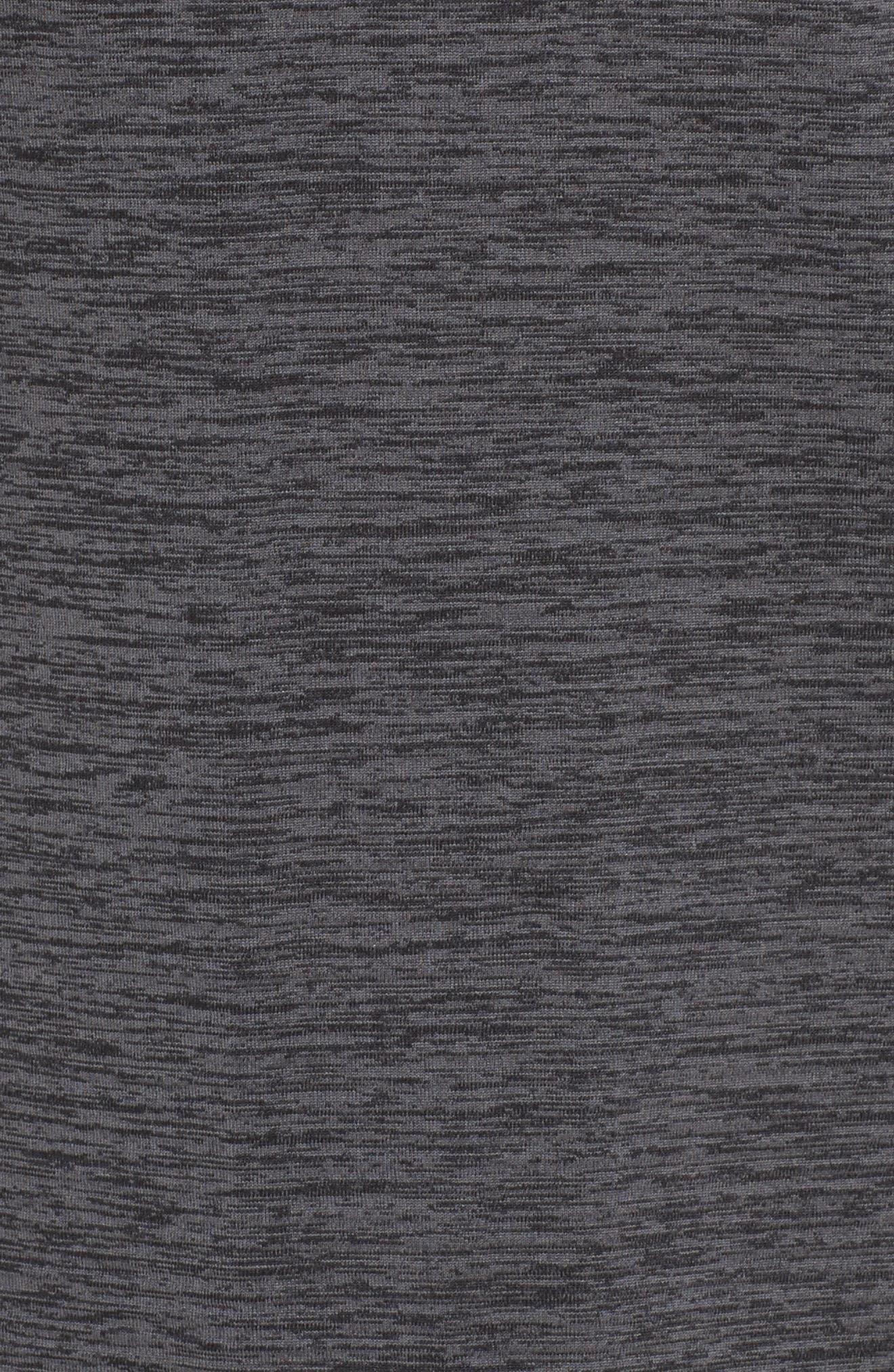 Therma Sphere Element Running Top,                             Alternate thumbnail 6, color,                             Black/ Htr/ Dark Grey