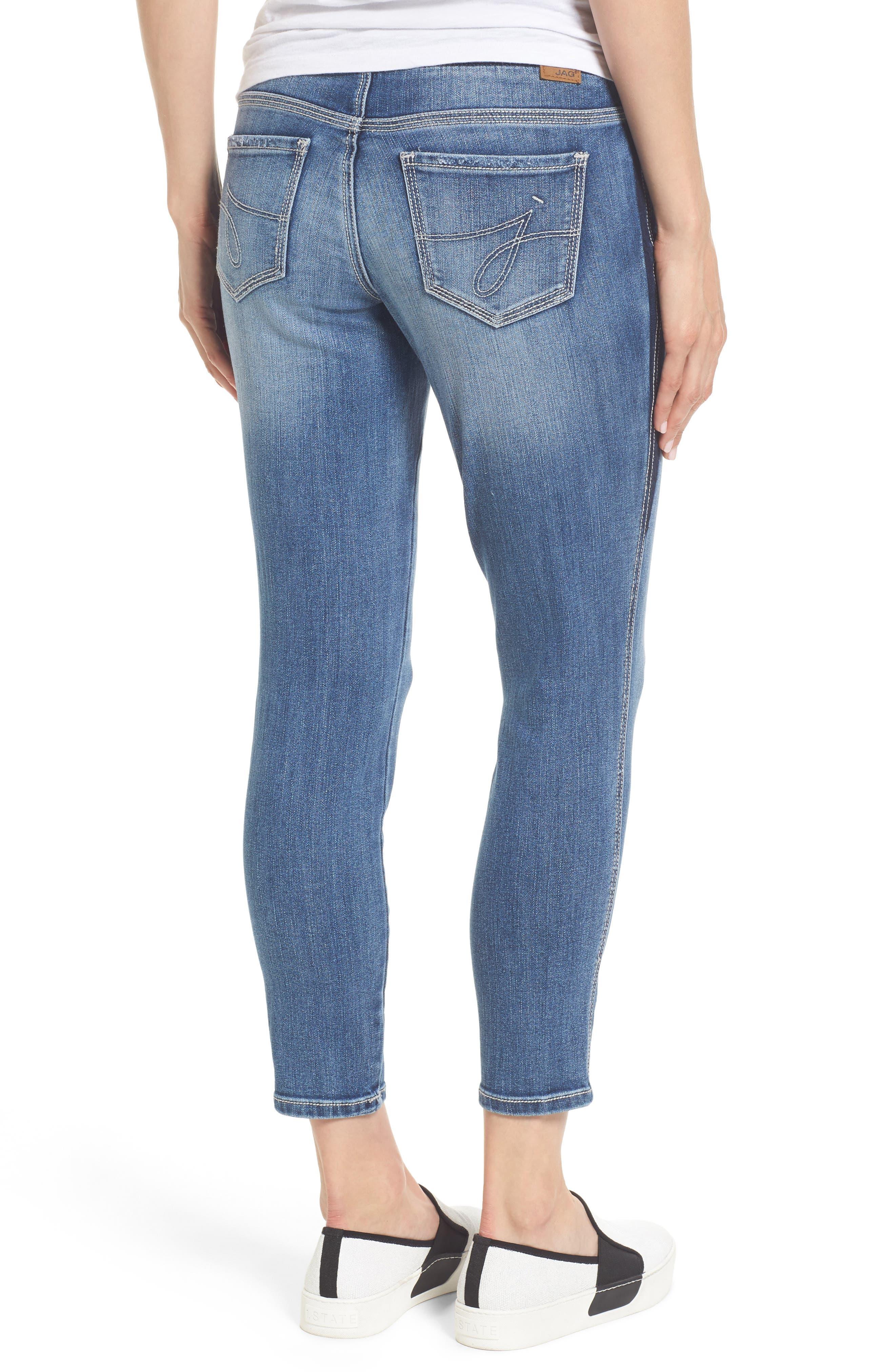 Alternate Image 2  - Jag Jeans Nora Marta Stretch Skinny Jeans (River Wash)