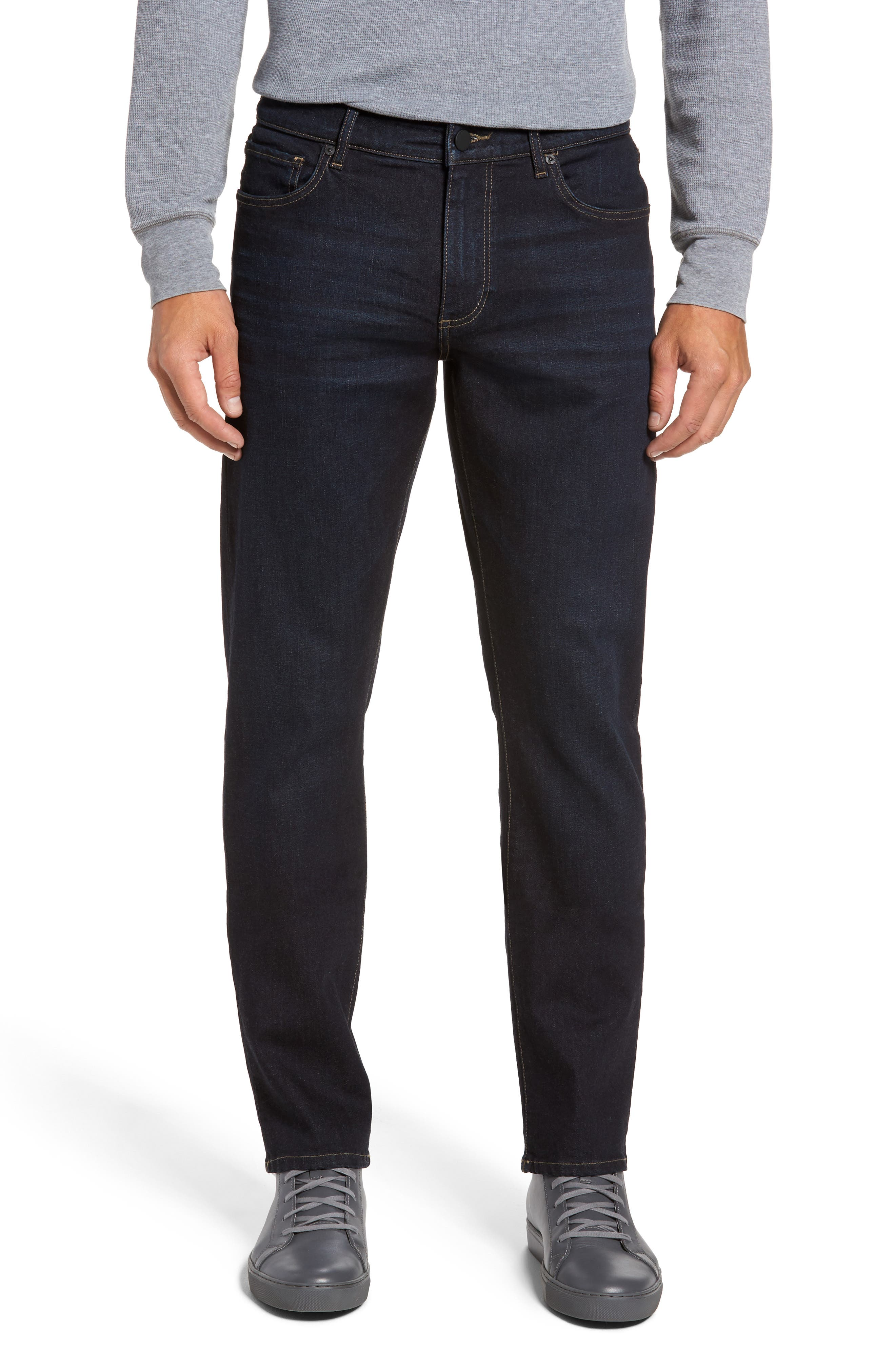 Russell Slim Straight Leg Jeans,                             Main thumbnail 1, color,                             Forte