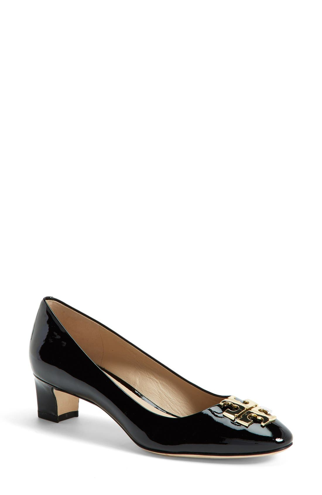 Alternate Image 1 Selected - Tory Burch 'Raleigh' Patent Leather Pump (Women)