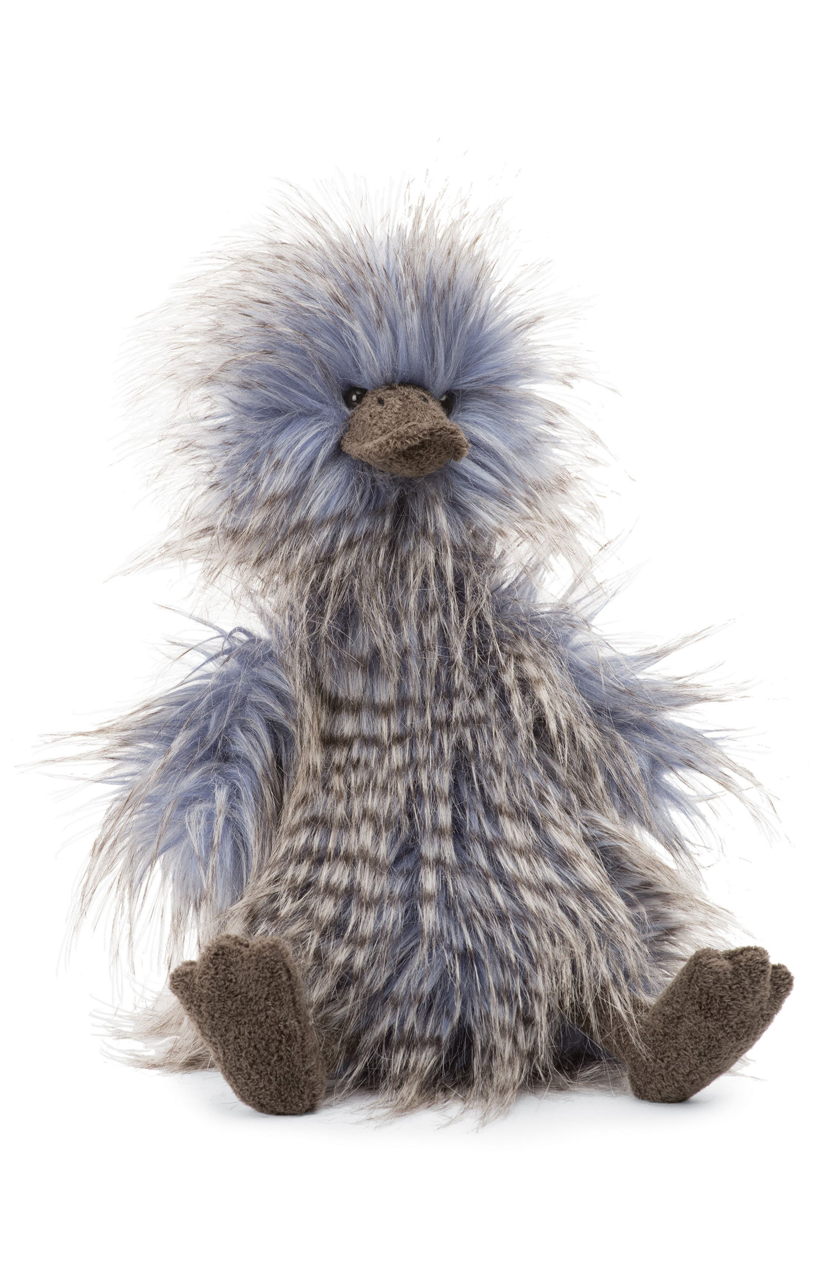 Delphine Duck Stuffed Animal,                             Main thumbnail 1, color,                             Blue/ Multi
