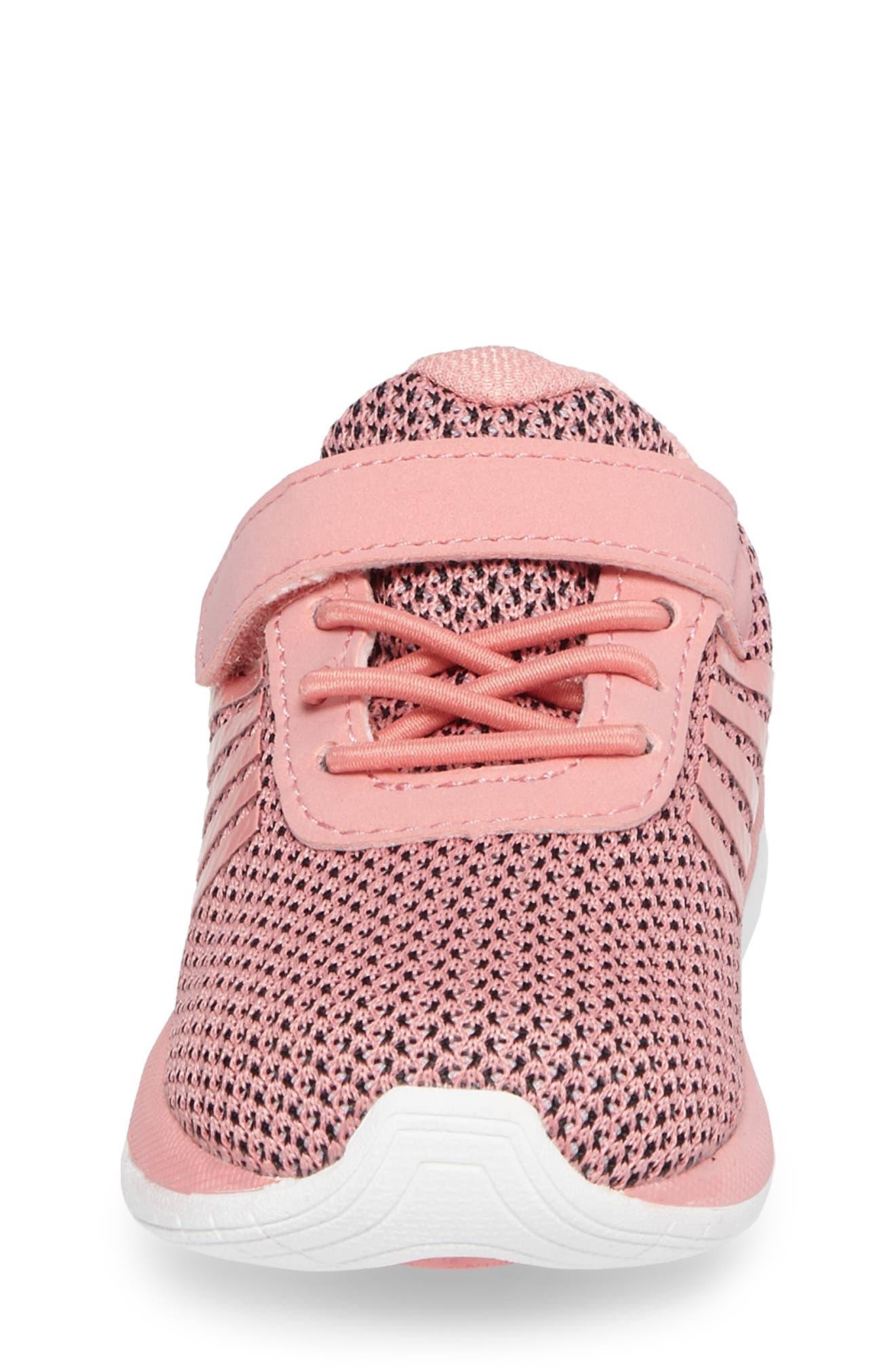 Tubes Infinity Sneaker,                             Alternate thumbnail 4, color,                             Flamingo Pink/ White