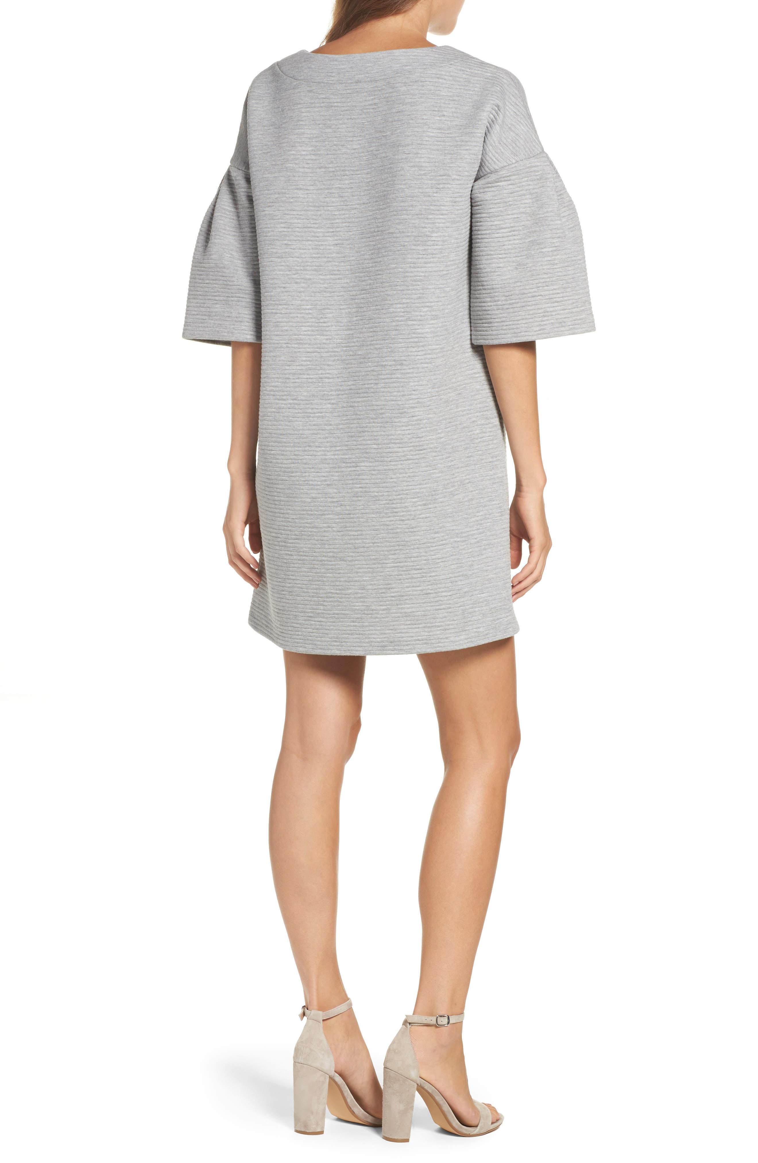 Alternate Image 2  - French Connection Marian Ottoman Bell Sleeve Dress