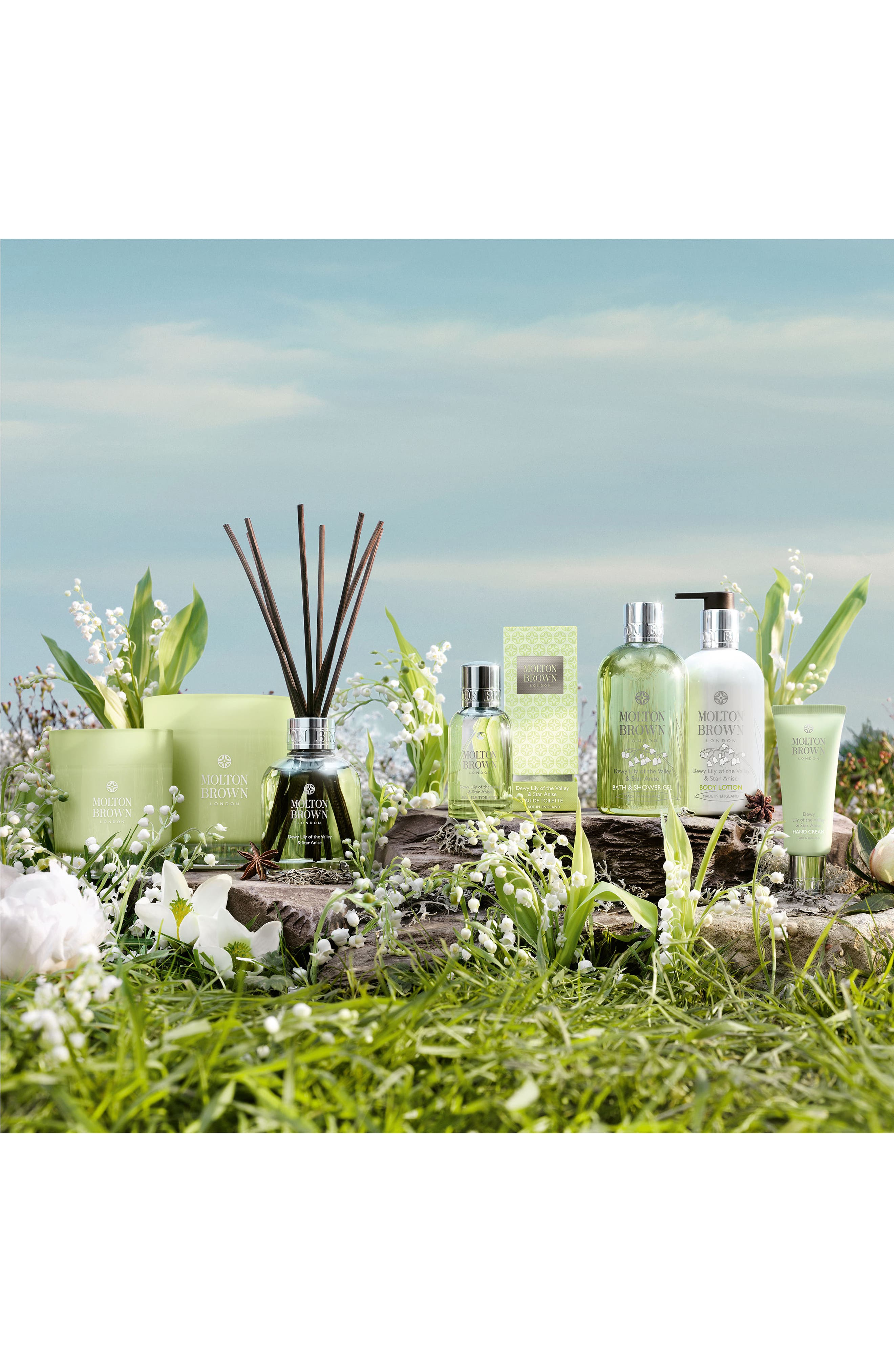 Alternate Image 2  - MOLTON BROWN London 'Dewy Lily of the Valley & Star Anise' Aroma Reeds
