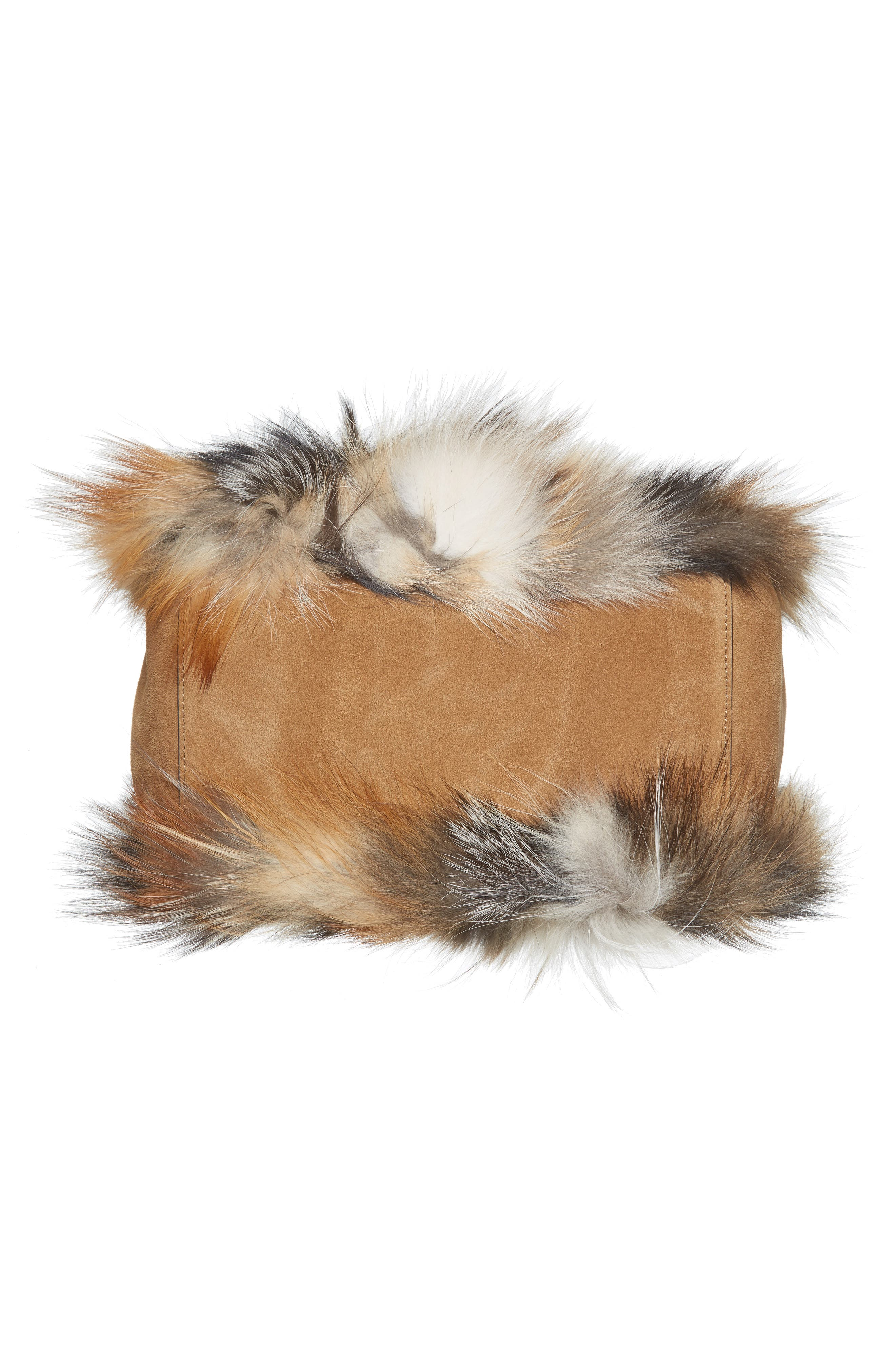 Alternate Image 5  - Michael Kors Large Elenor Genuine Fox Fur Tote