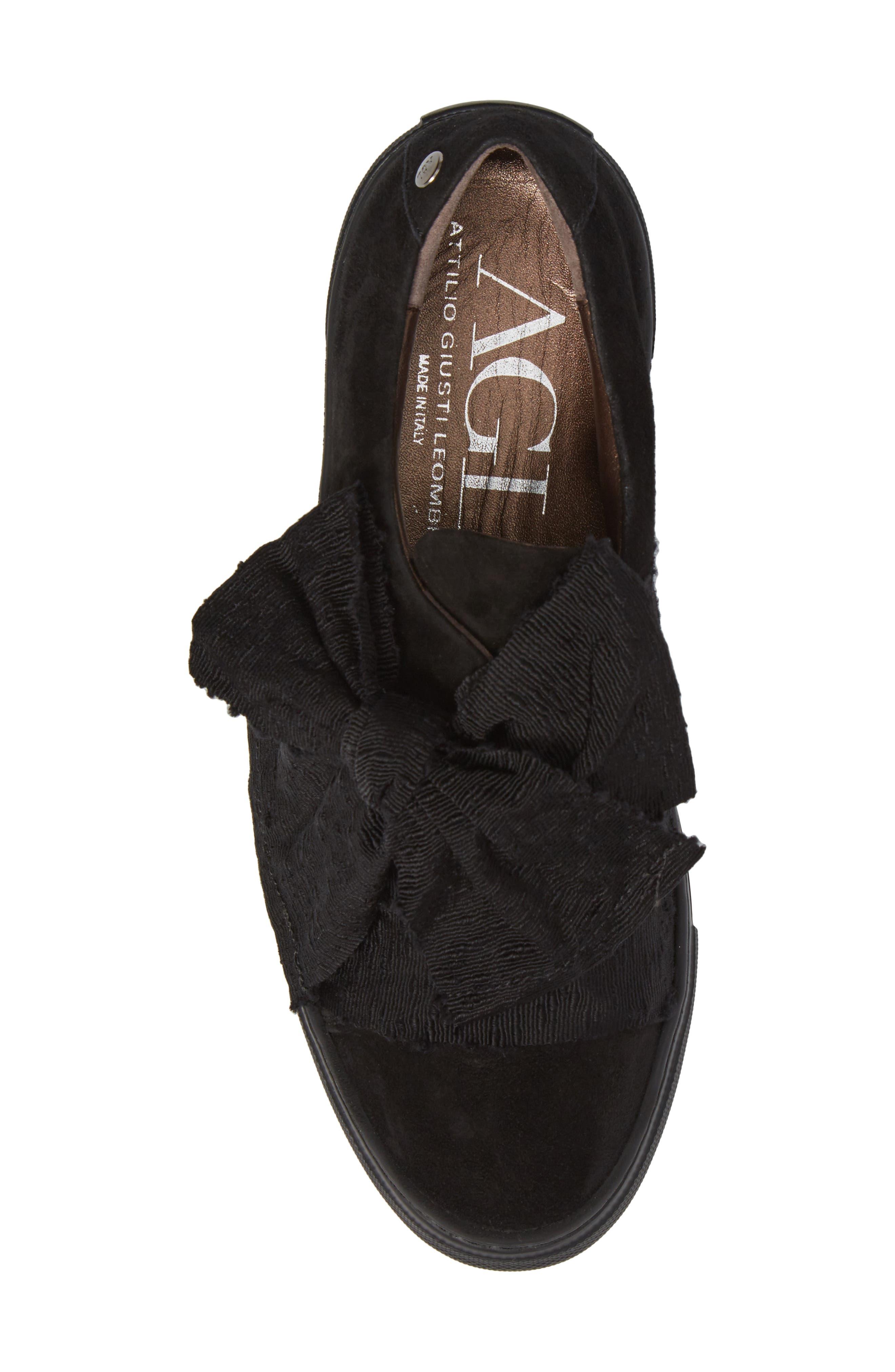 Alternate Image 5  - AGL Bow Platform Sneaker (Women)