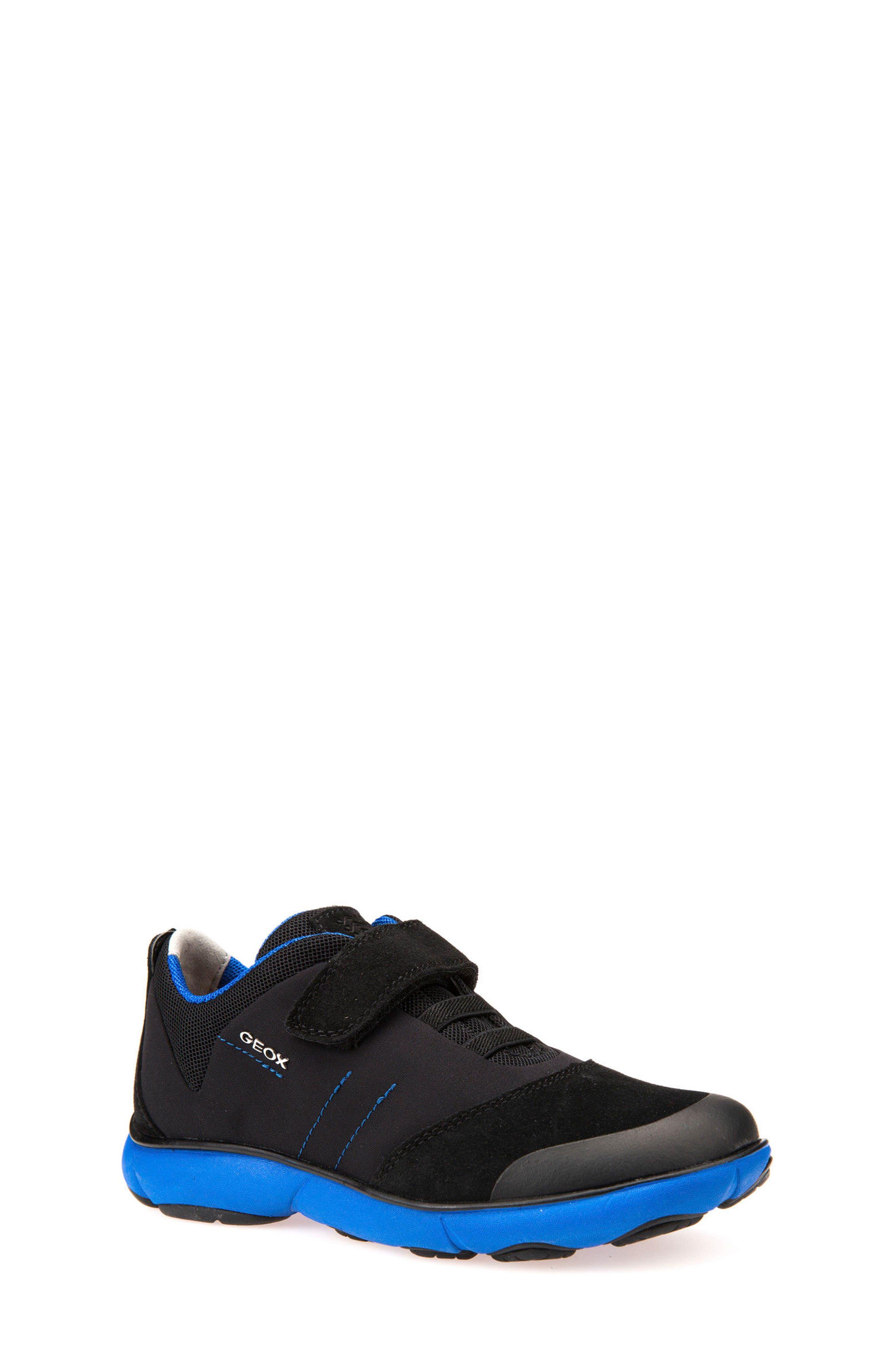 Alternate Image 1 Selected - Geox Nebula Low Top Sneaker (Toddler, Little Kid & Big Kid)