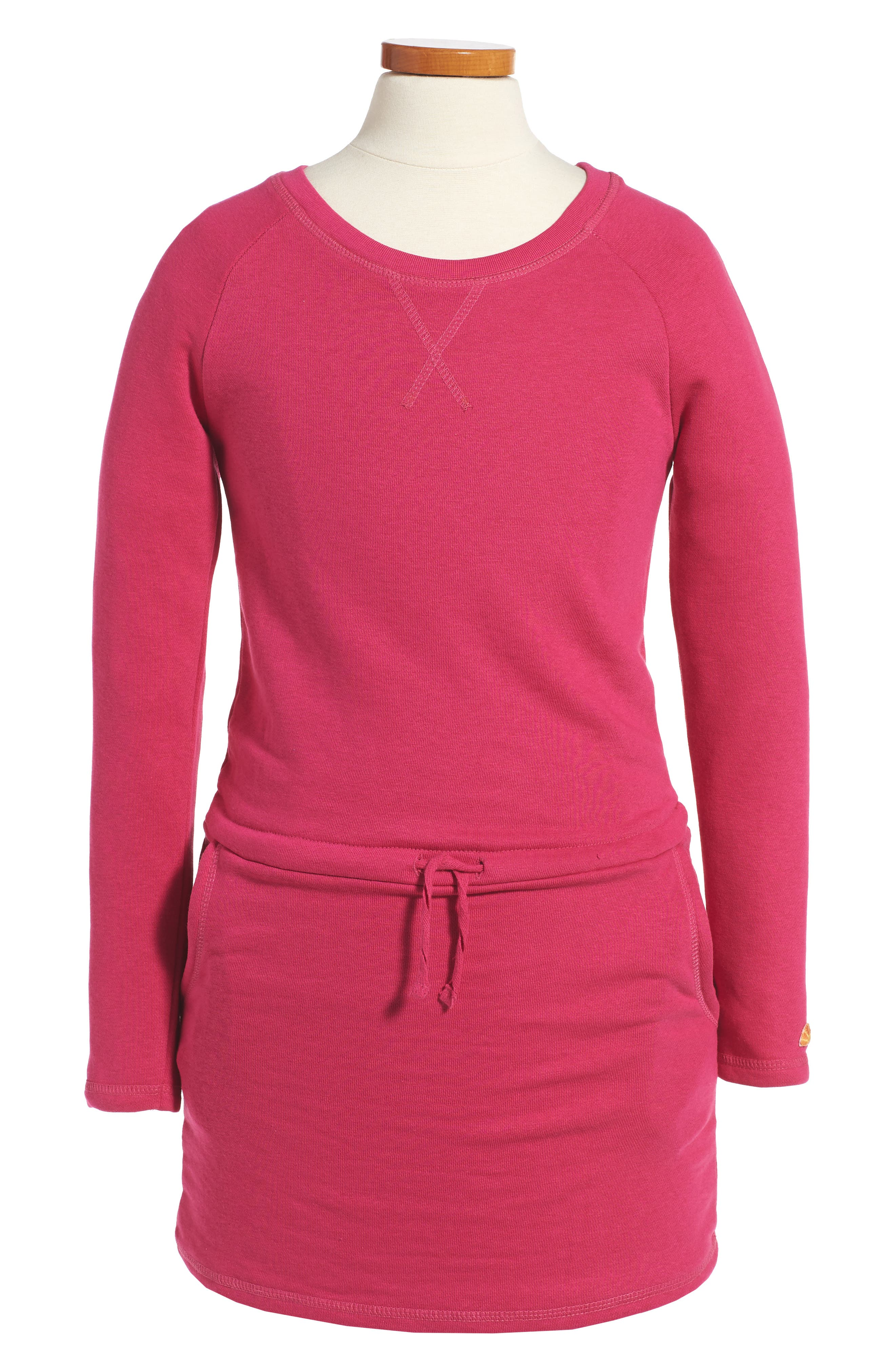 C & C California Sweatshirt Dress (Big Girls)