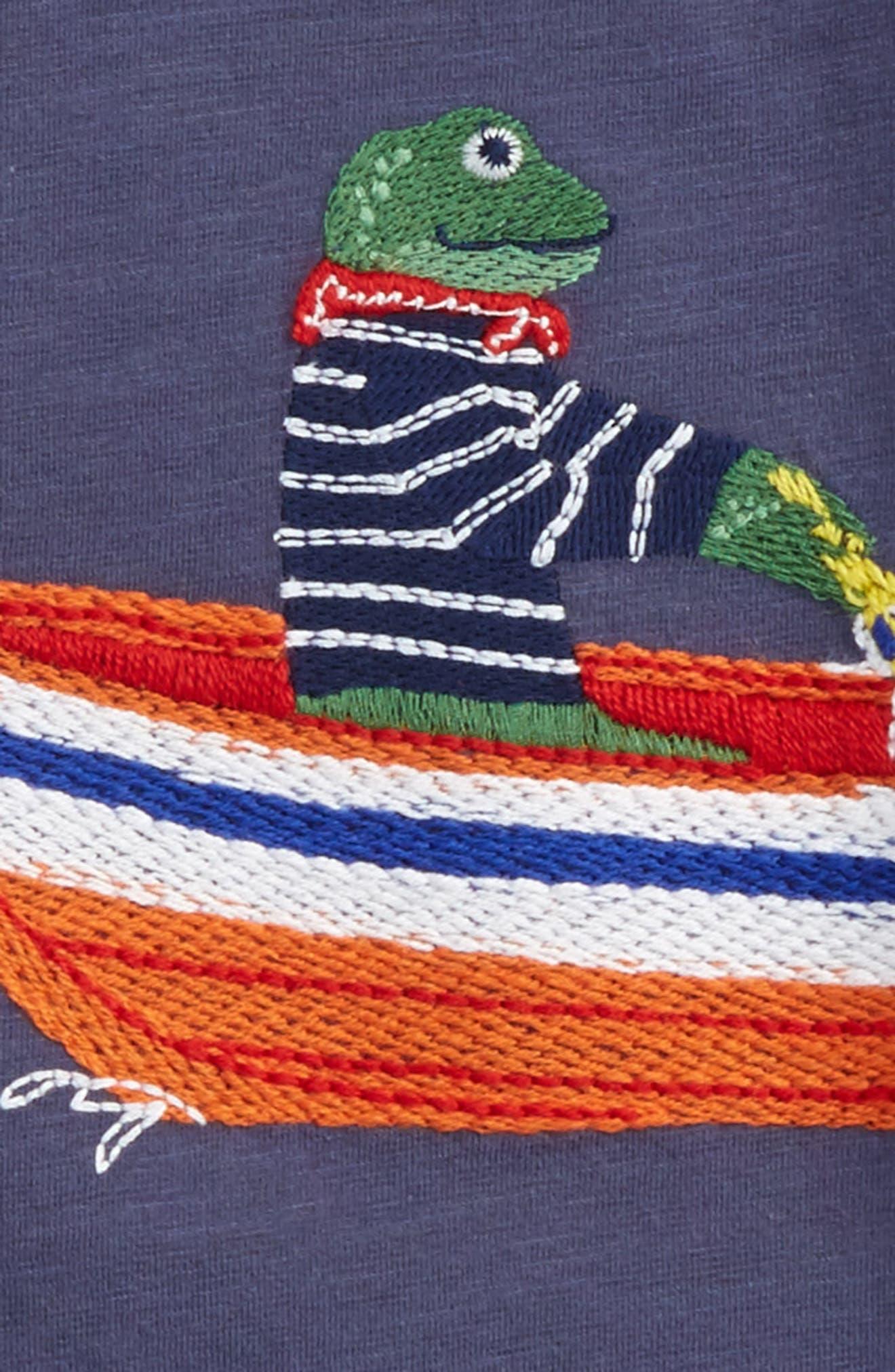 Alternate Image 2  - Mini Boden Superstitch T-Shirt (Toddler Boys, Little Boys & Big Boys)
