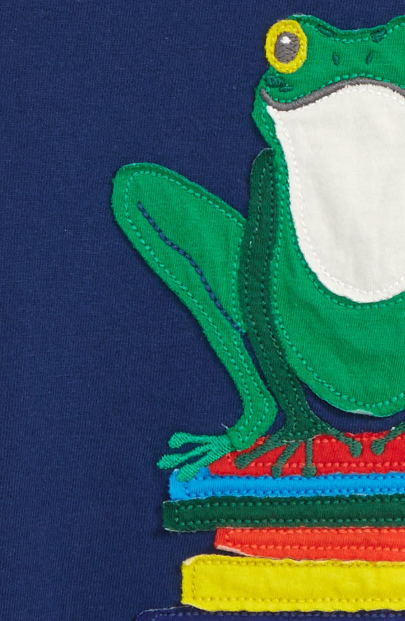 Alternate Image 2  - Mini Boden Big Appliqué T-Shirt (Toddler Boys, Little Boys & Big Boys)