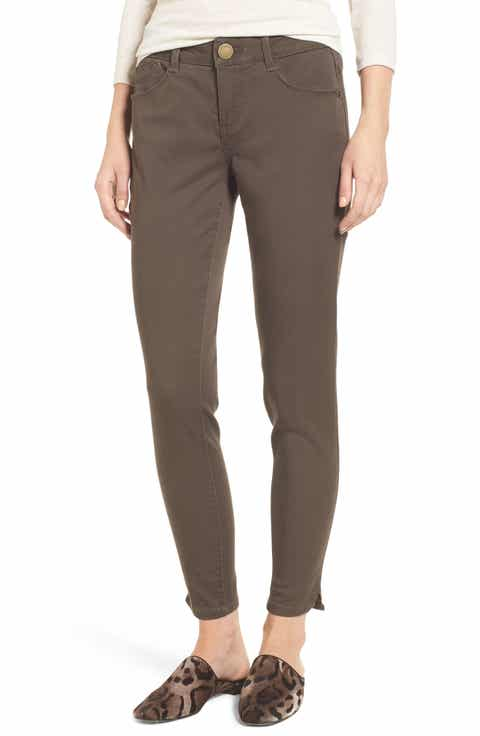Wit & Wisdom Ab-solution Stretch Twill Skinny Pants (Regular & Petite) (Nordstrom Exclusive)