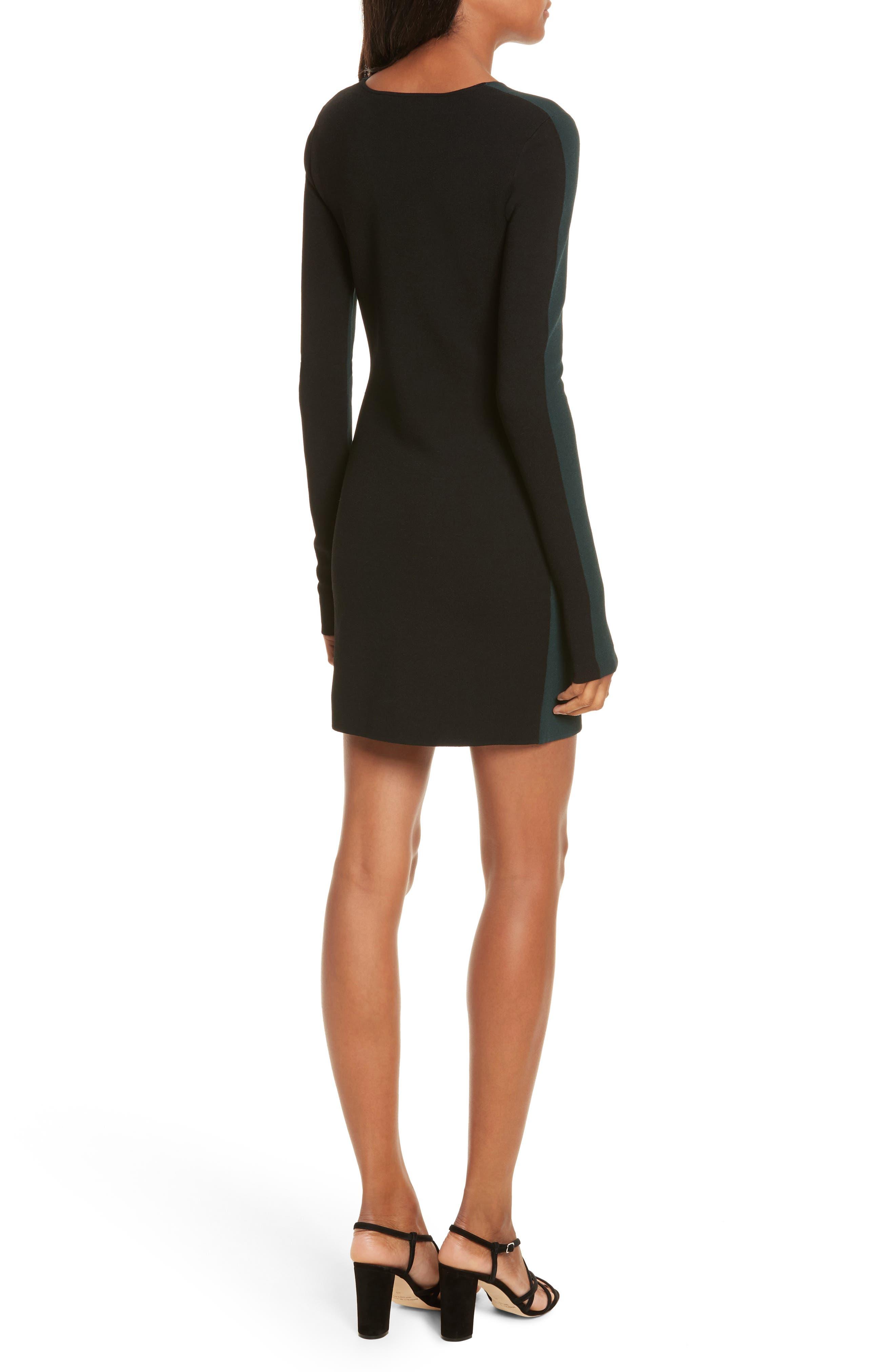 Alternate Image 2  - Diane von Furstenberg Long Sleeve Minidress