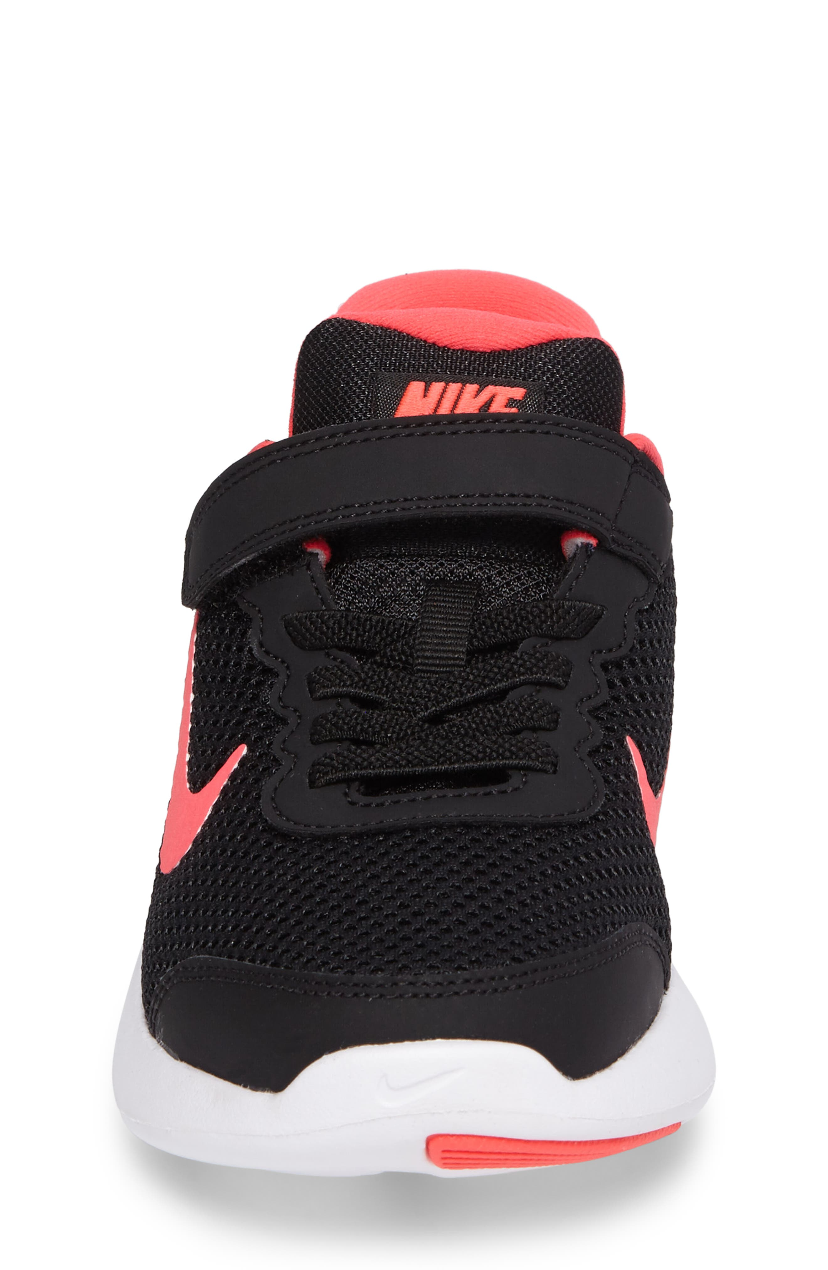 Lunar Apparent Sneaker,                             Alternate thumbnail 4, color,                             Black/ Racer Pink/ White