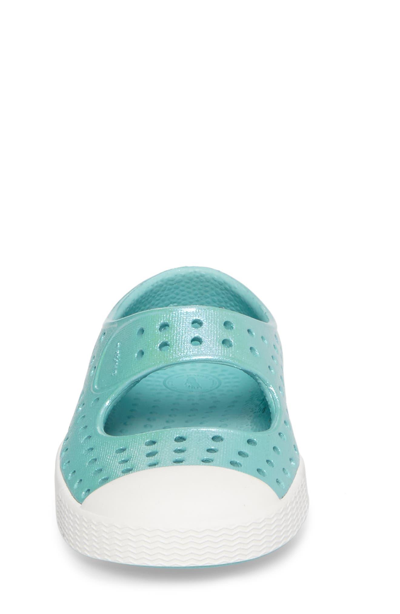 Alternate Image 4  - Native Shoes Juniper Perforated Mary Jane (Baby, Walker, Toddler & Little Kid)