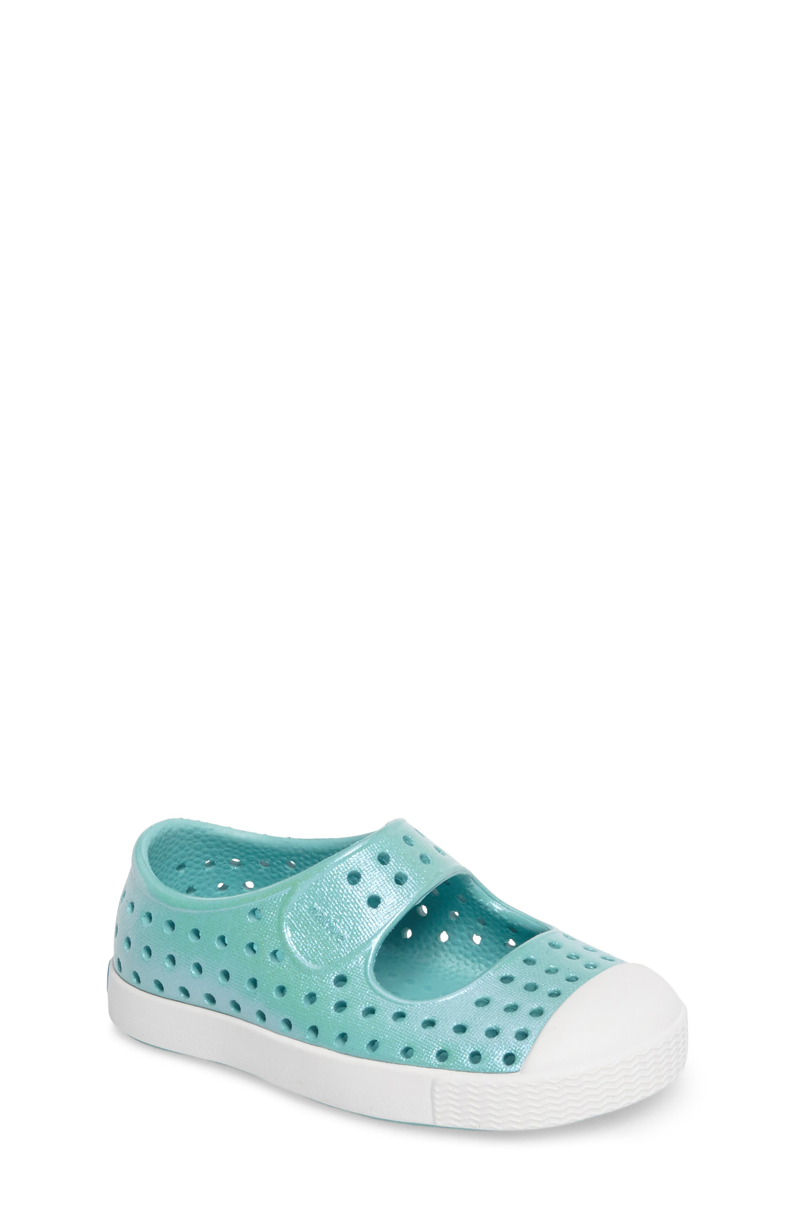 Alternate Image 1 Selected - Native Shoes Juniper Perforated Mary Jane (Baby, Walker, Toddler & Little Kid)
