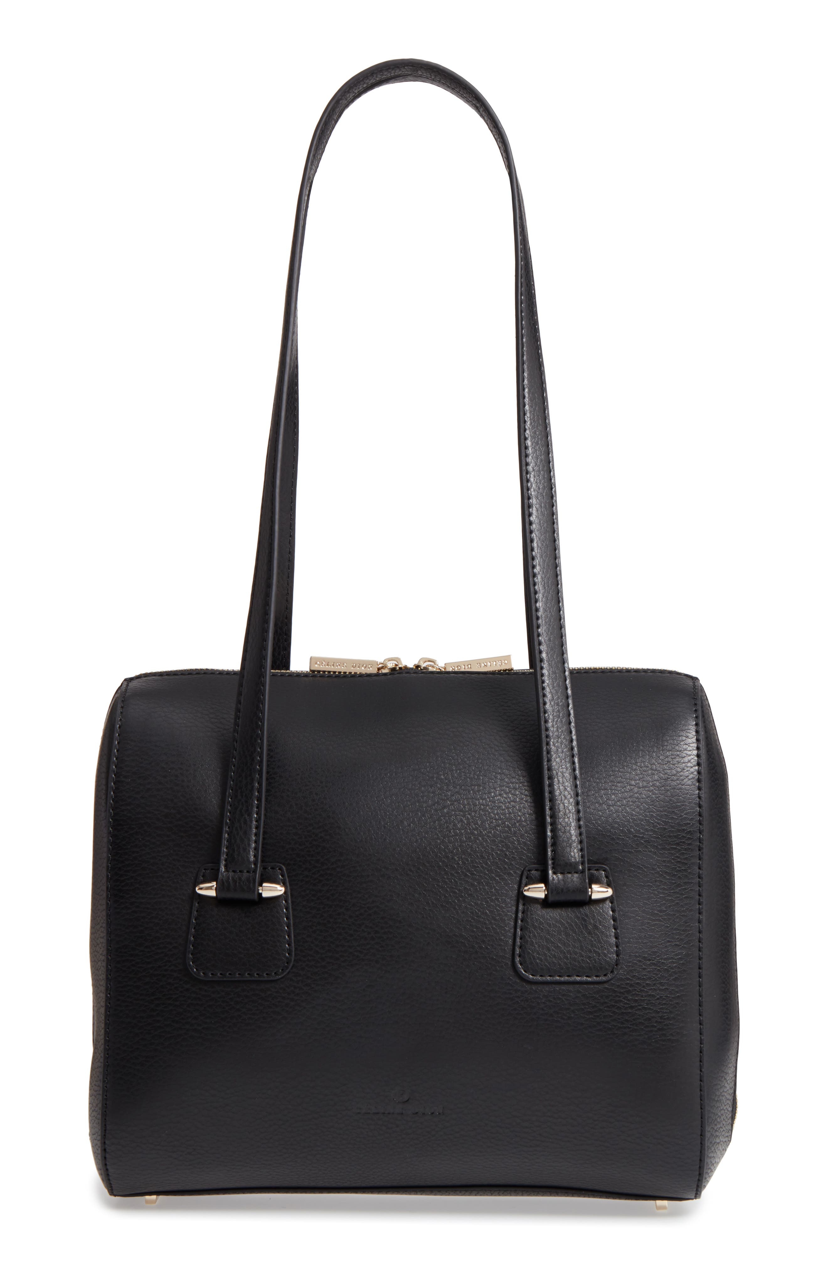 Alternate Image 1 Selected - Céline Dion Triad Leather Tote