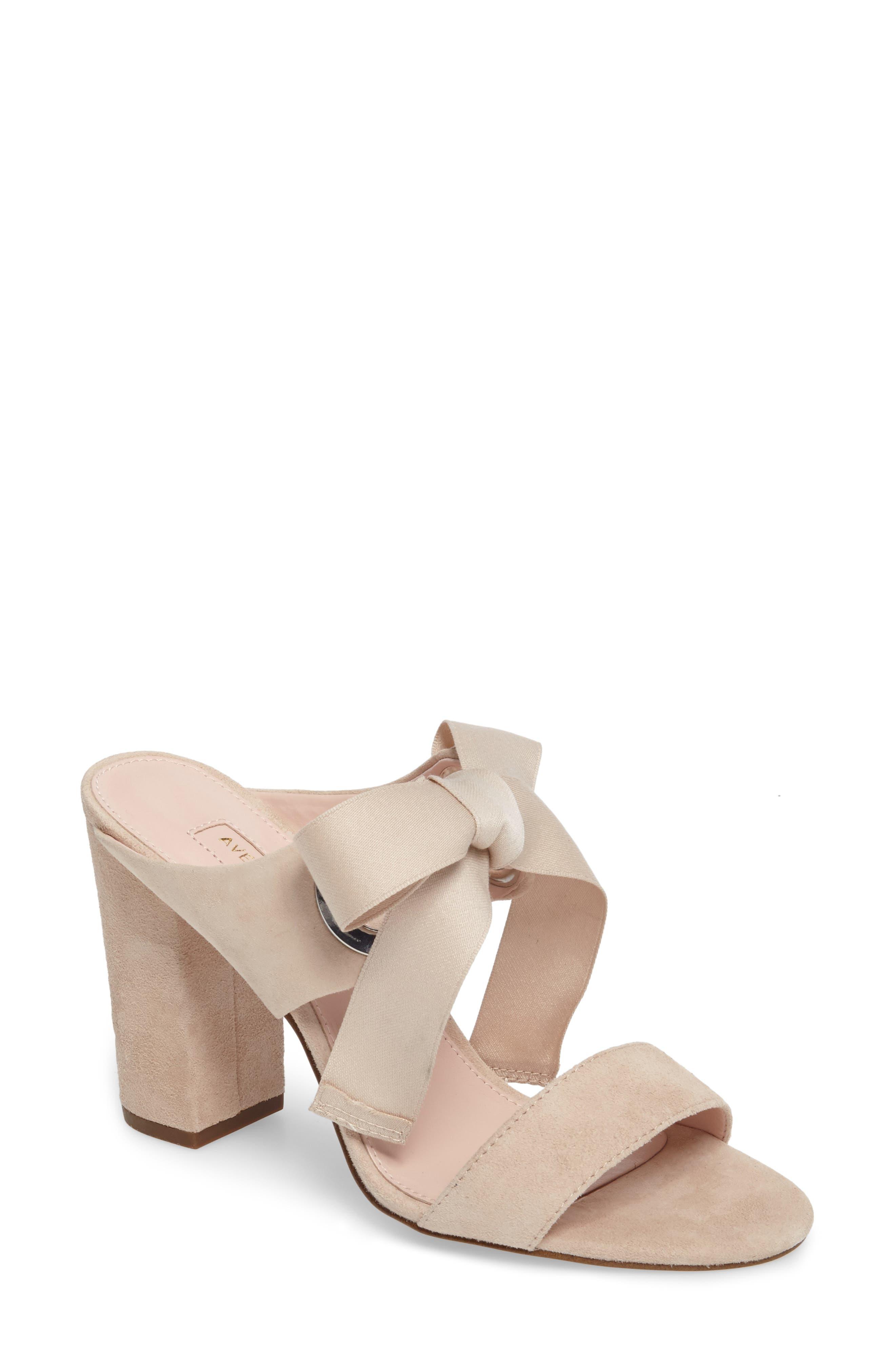 Alternate Image 1 Selected - Avec Les Filles Megan Tie Strap Sandal (Women)