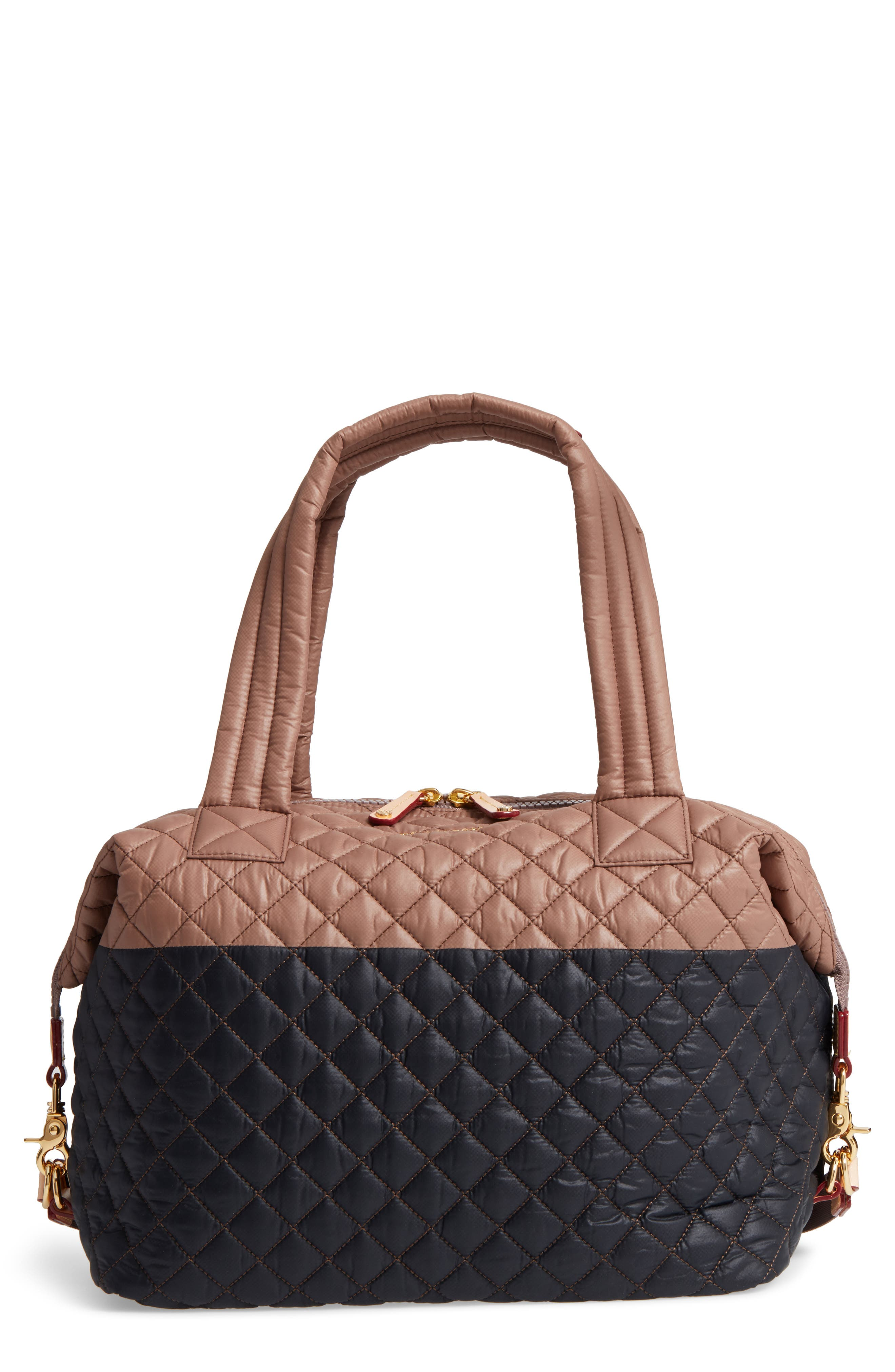 Alternate Image 1 Selected - MZ Wallace 'Large Sutton' Quilted Oxford Nylon Shoulder Tote