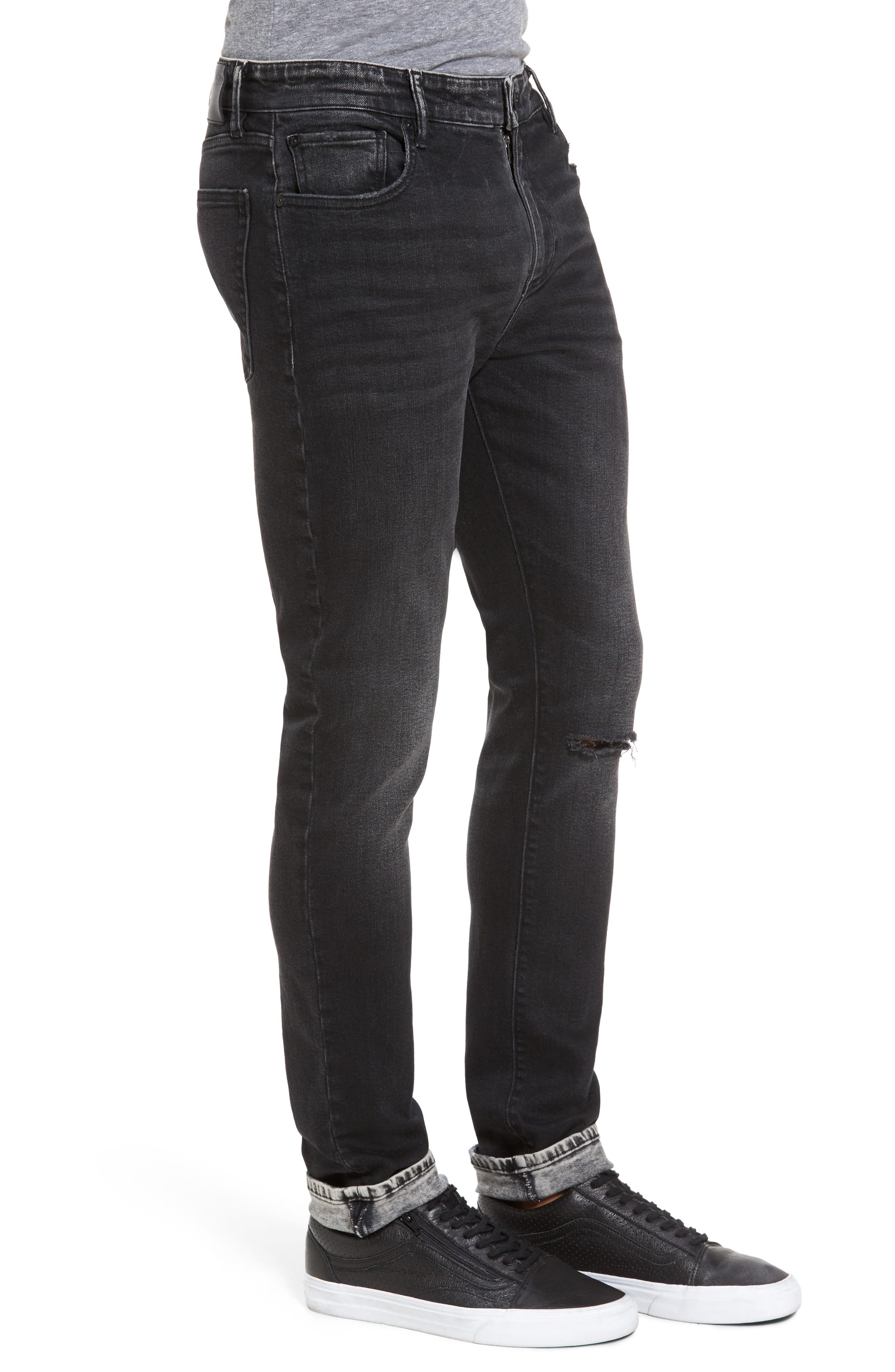 Alternate Image 3  - DL1961 Hunter Skinny Jeans (Argon)